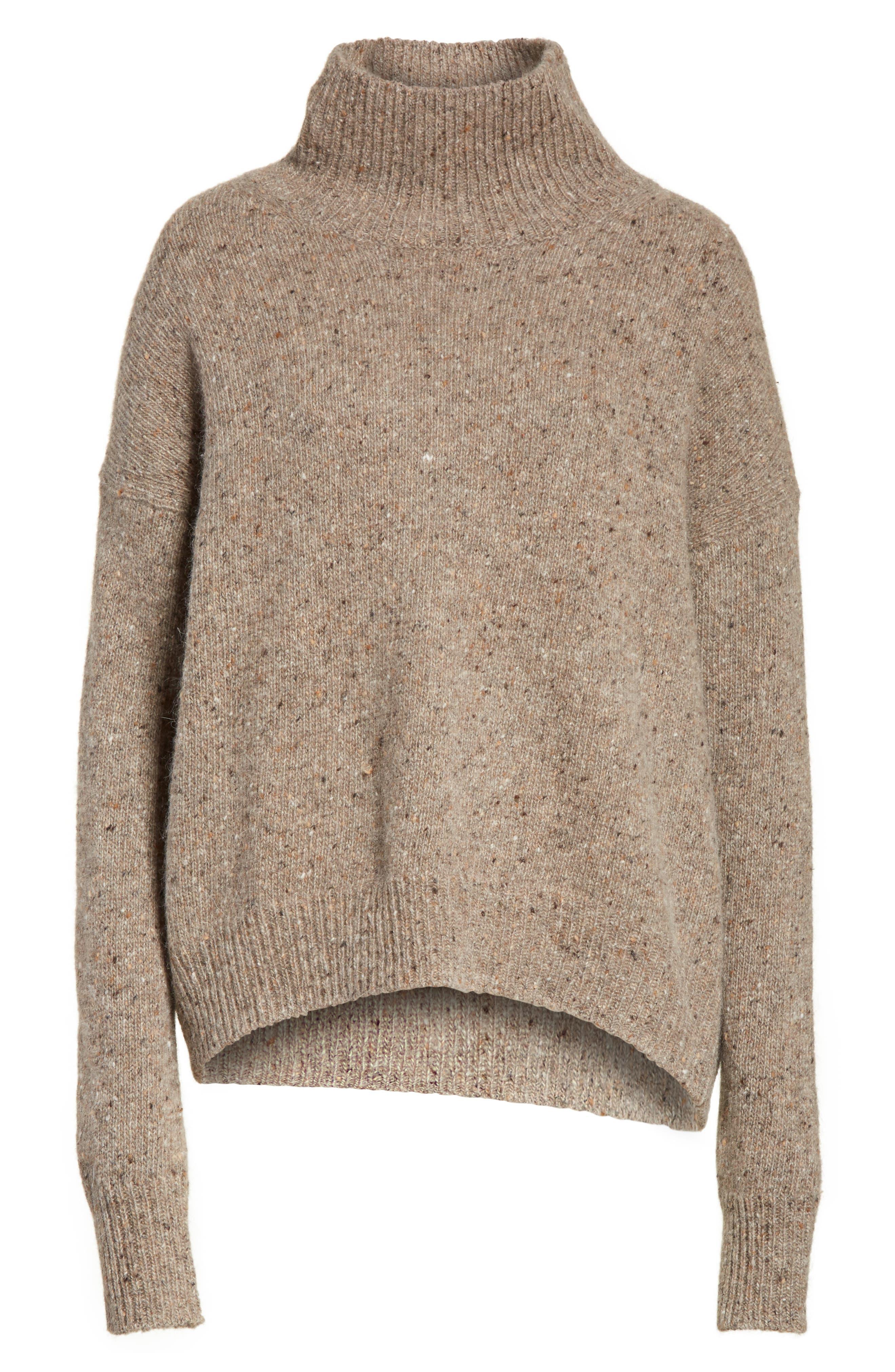 Cashmere Turtleneck Sweater,                             Alternate thumbnail 12, color,