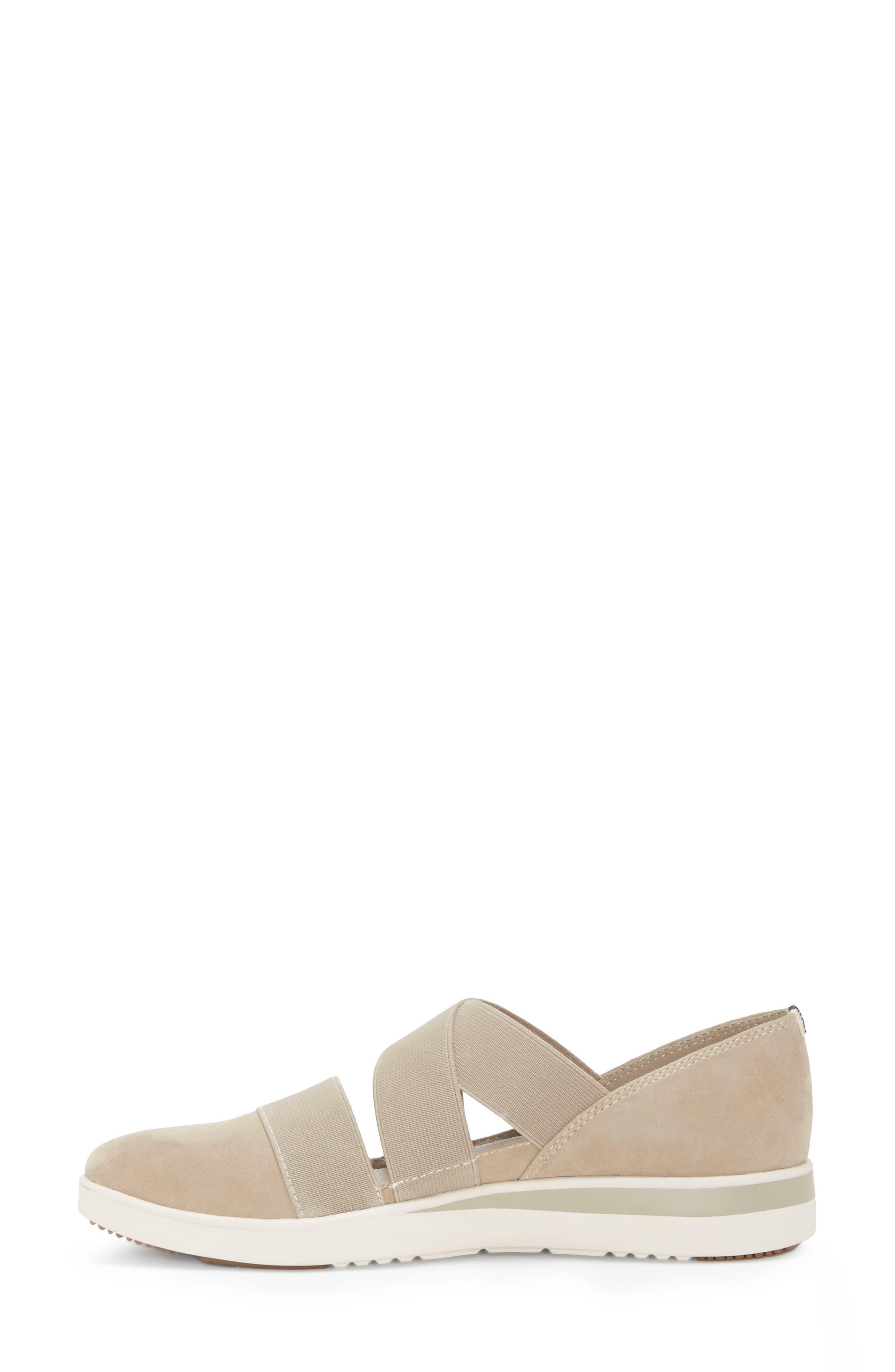 Alskara Slip-On Sneaker Flat,                             Alternate thumbnail 9, color,                             BRINDLE SUEDE