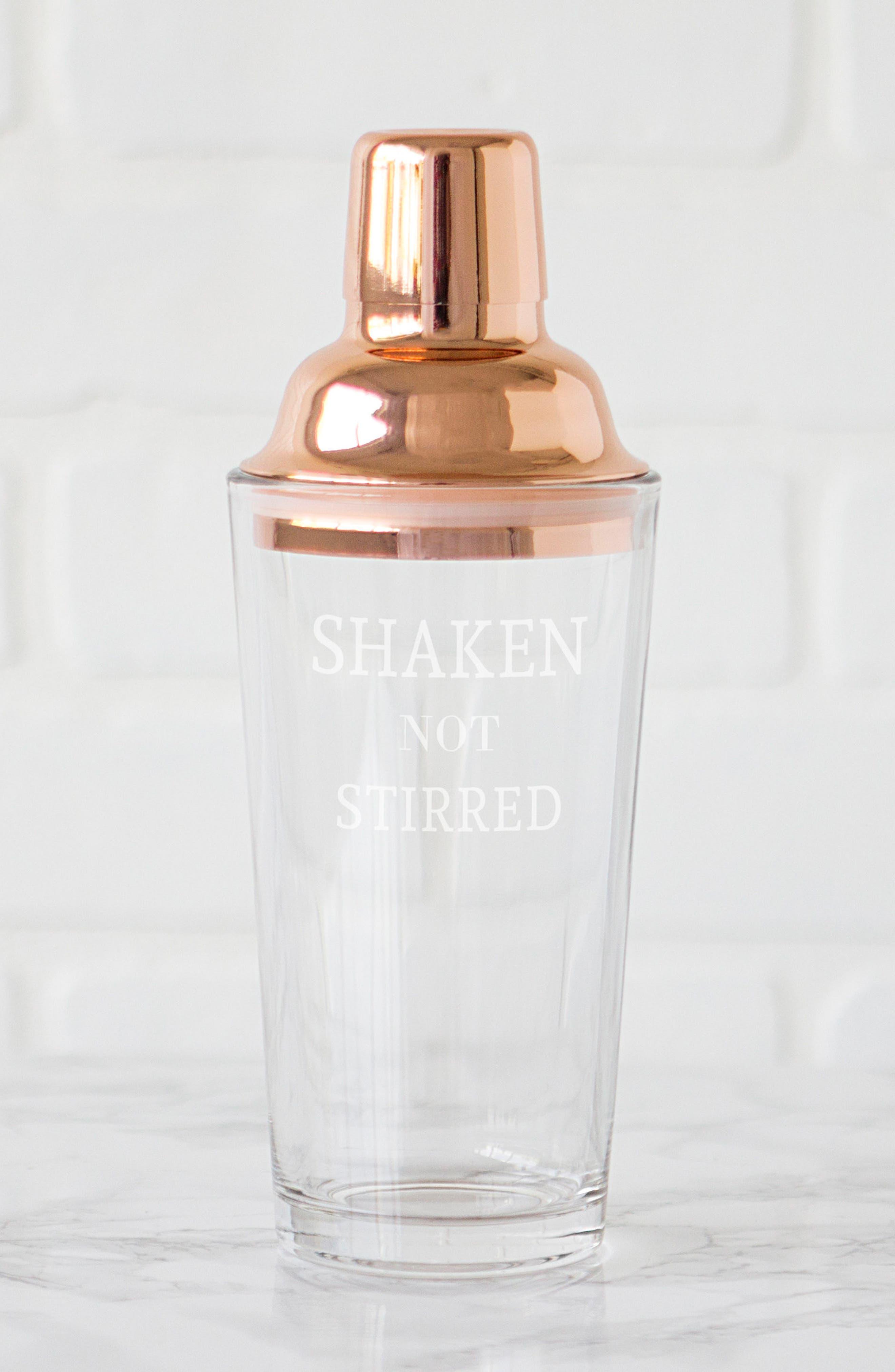 Shaken Not Stirred Cocktail Shaker,                             Alternate thumbnail 14, color,