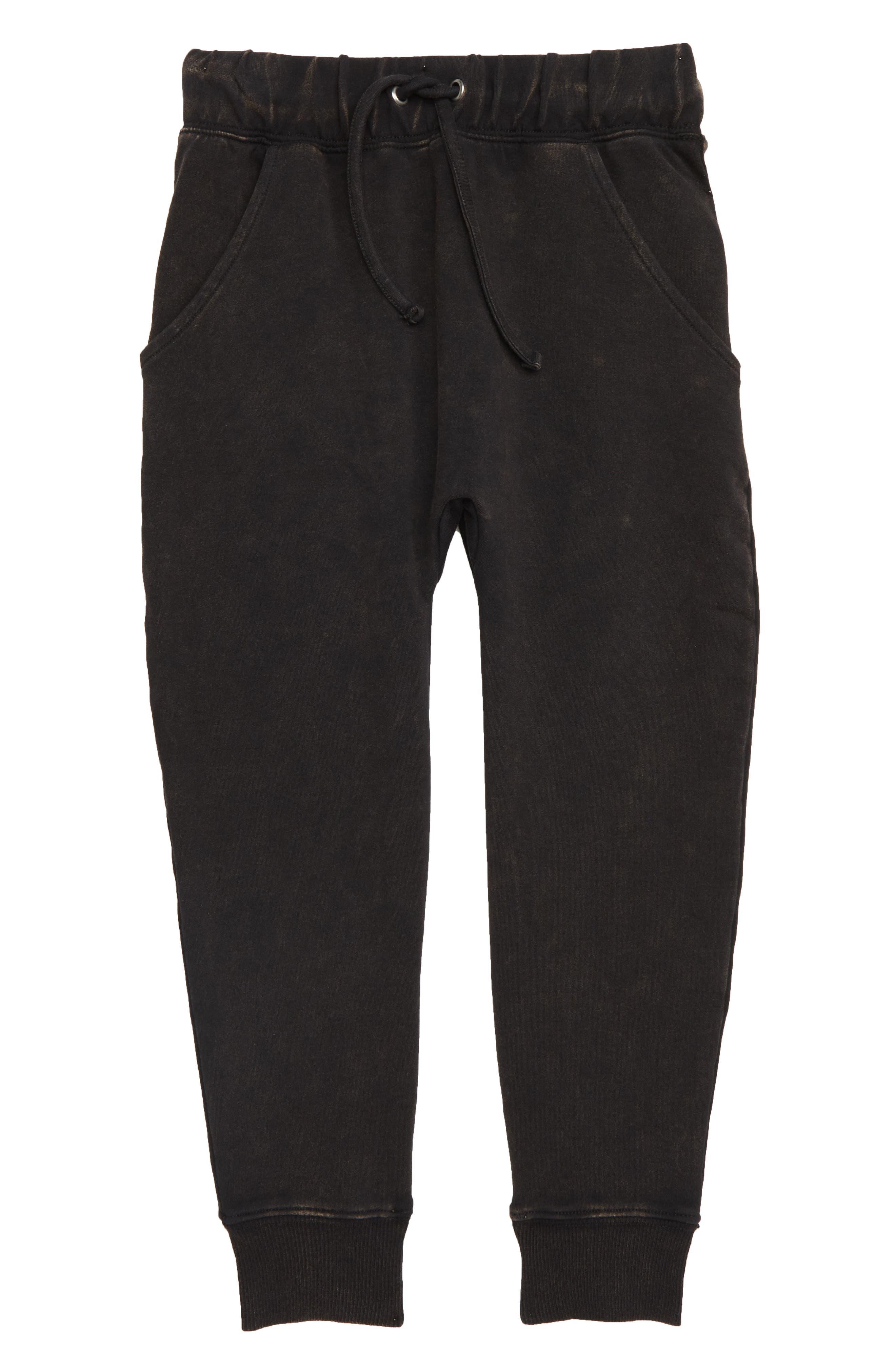 Acid Wash Track Pants,                         Main,                         color, 001