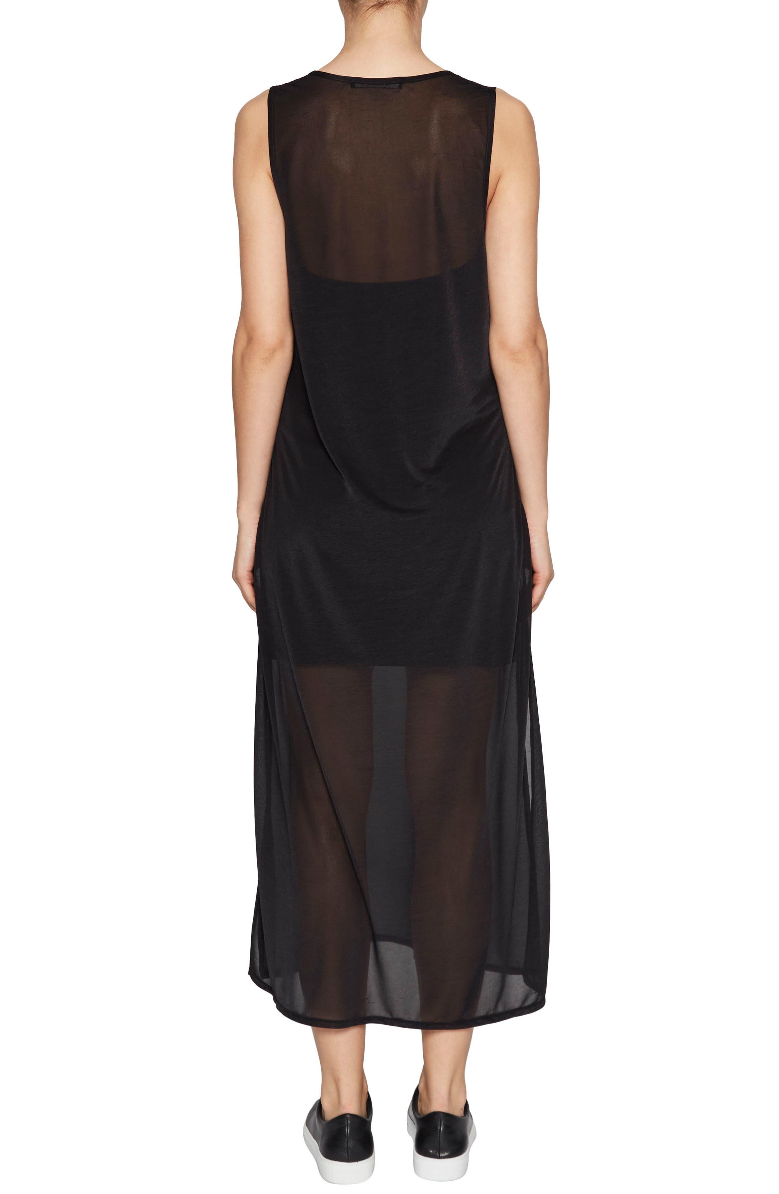 Celia Jersey Midi Dress,                             Alternate thumbnail 2, color,                             001