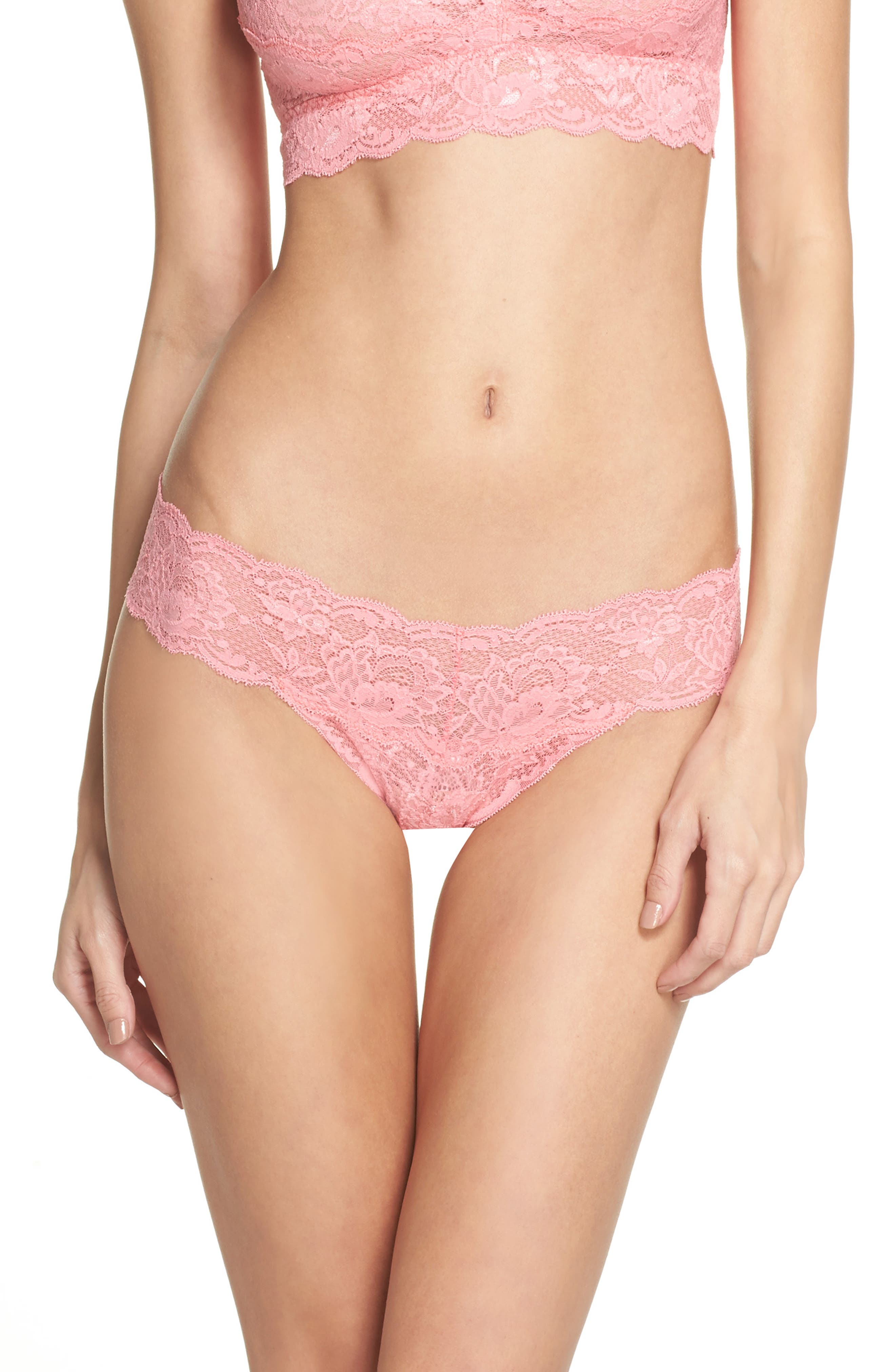'Never Say Never Cutie' Thong,                             Alternate thumbnail 124, color,