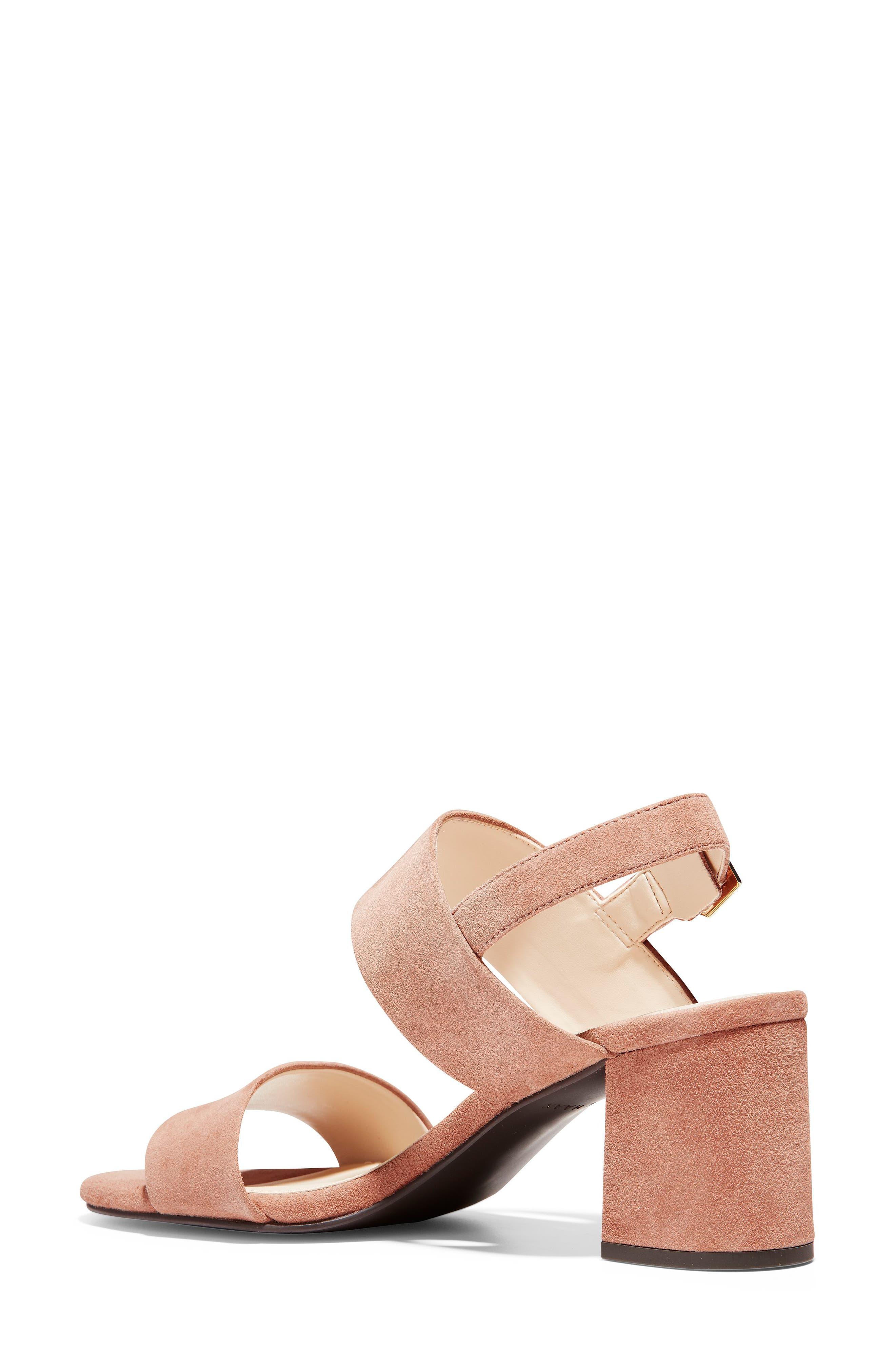 Avani Block Heel Sandal,                             Alternate thumbnail 2, color,                             MOCHA MOUSSE SUEDE