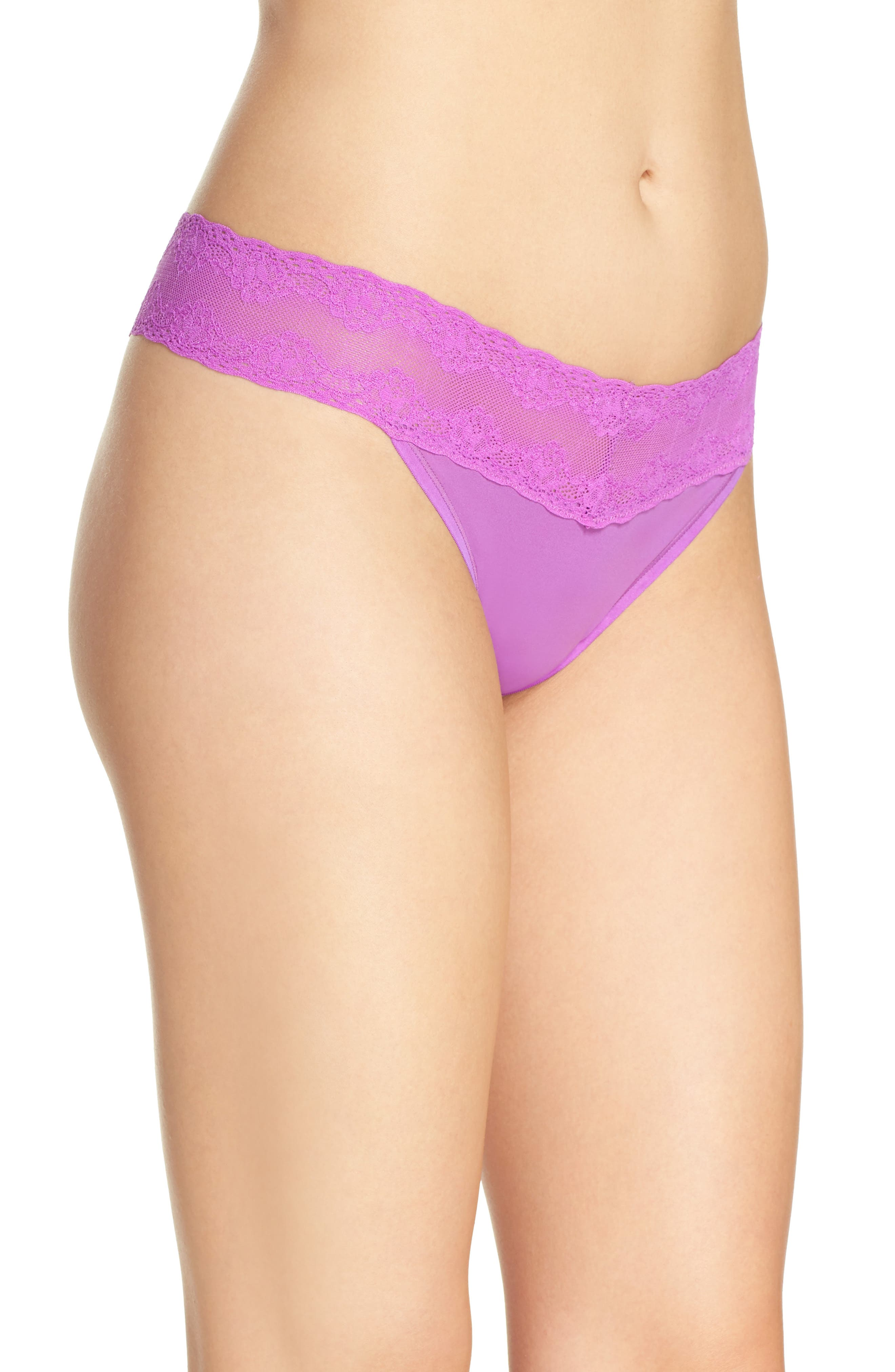 Bliss Perfection Thong,                             Alternate thumbnail 286, color,
