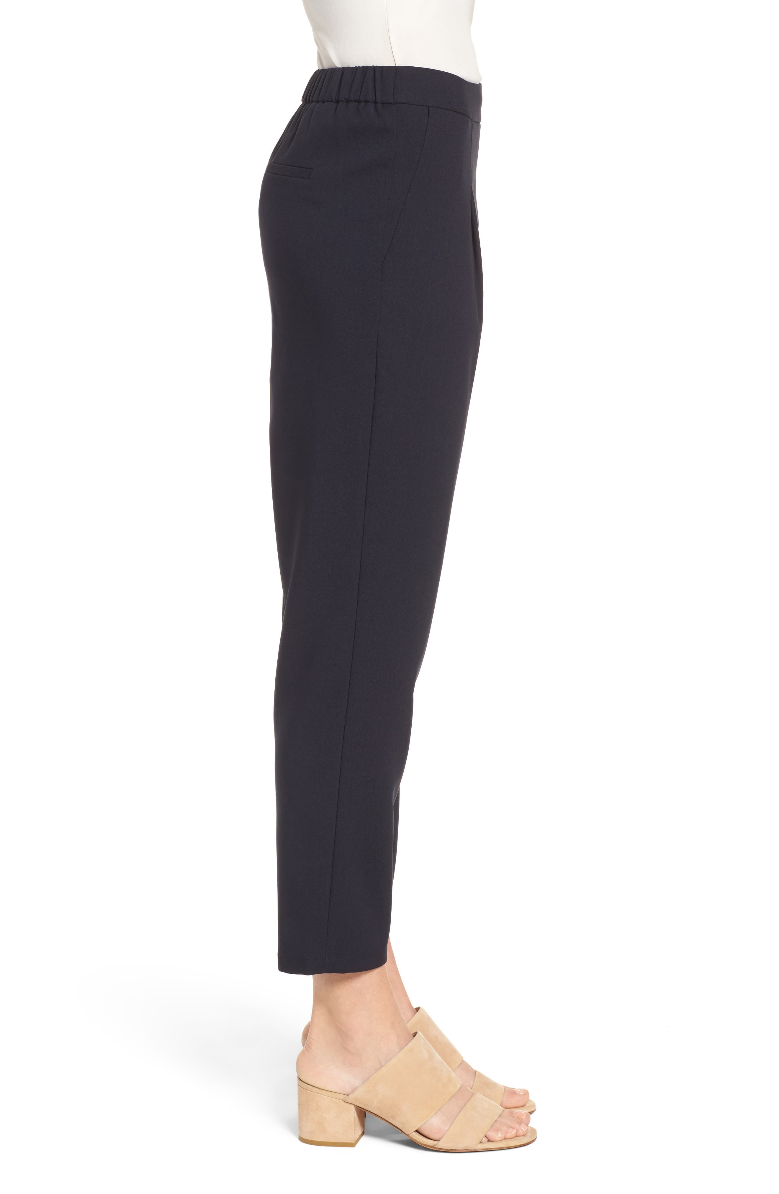 Twill Ankle Pants,                             Alternate thumbnail 6, color,