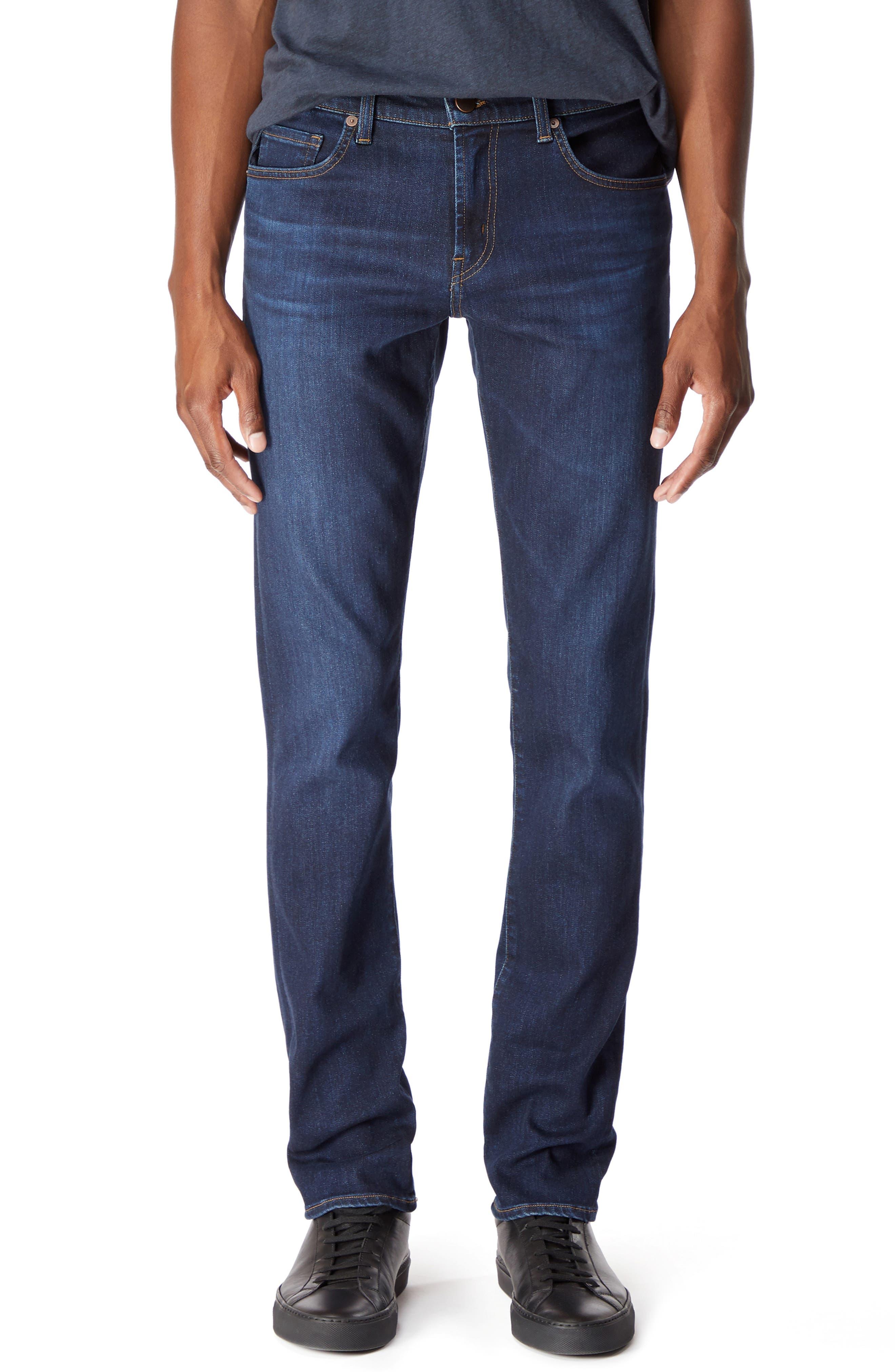 Kane Slim Straight Leg Jeans,                             Main thumbnail 1, color,                             GLEETING