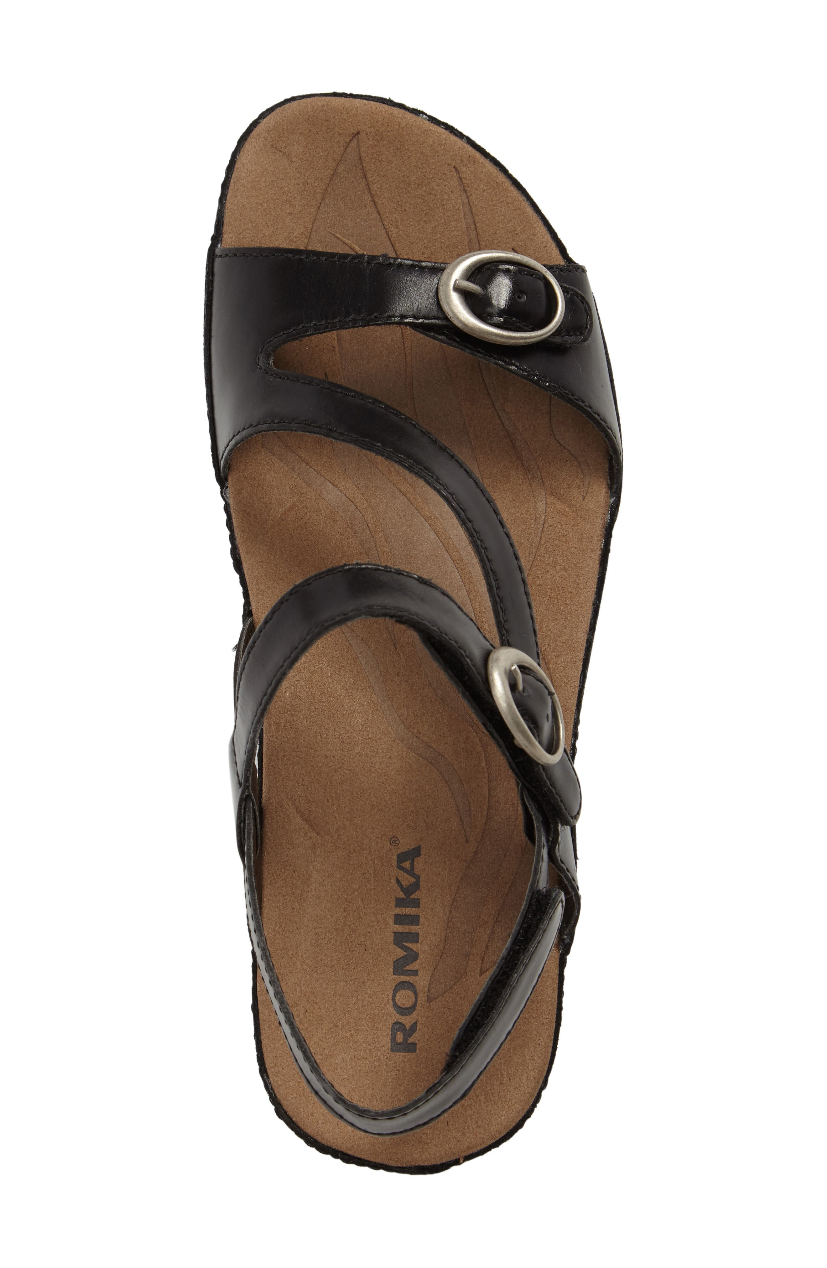 Fidschi 48 Sandal,                             Alternate thumbnail 5, color,                             001