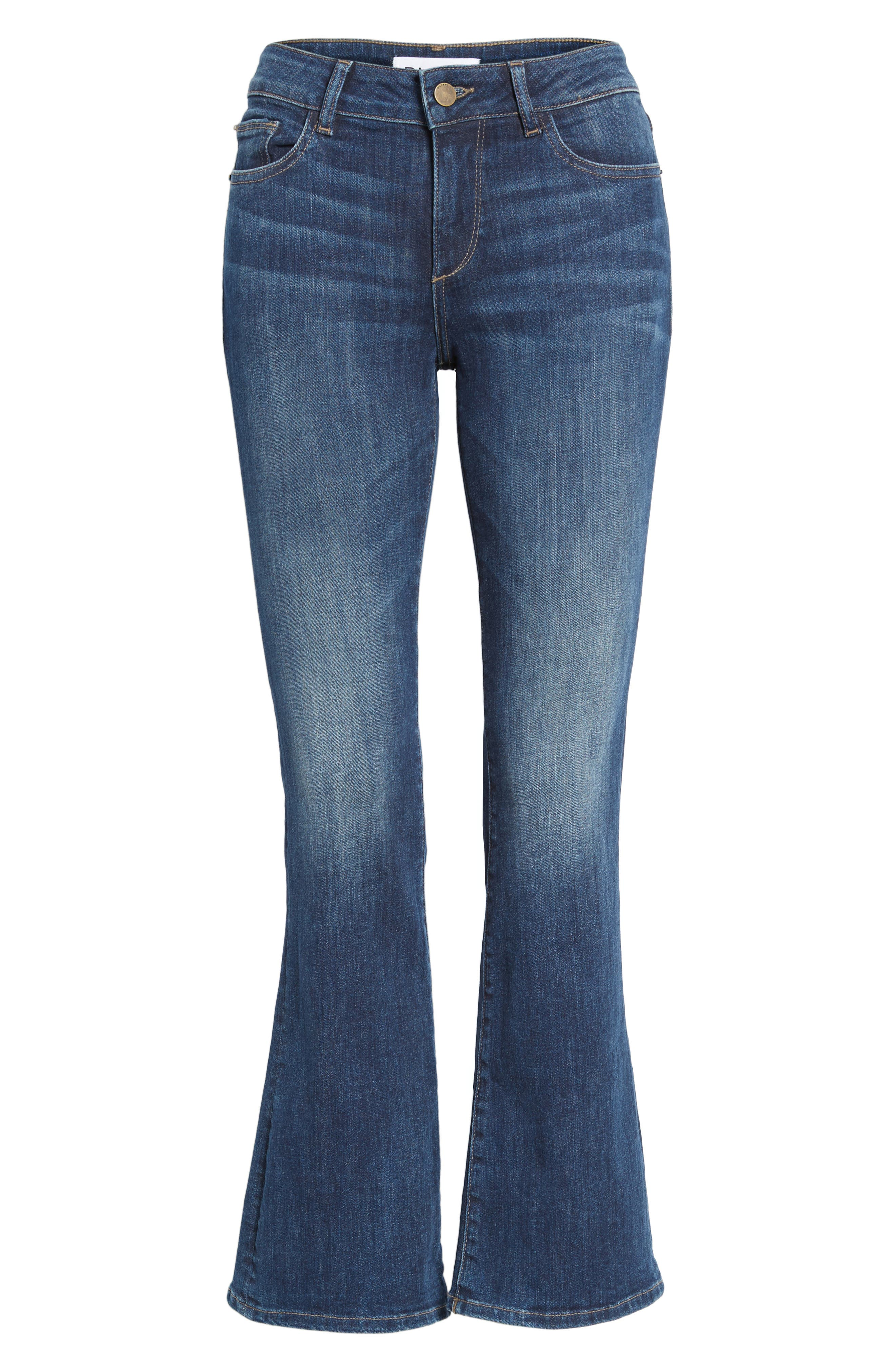 Abbey Bootcut Jeans,                             Alternate thumbnail 6, color,                             420
