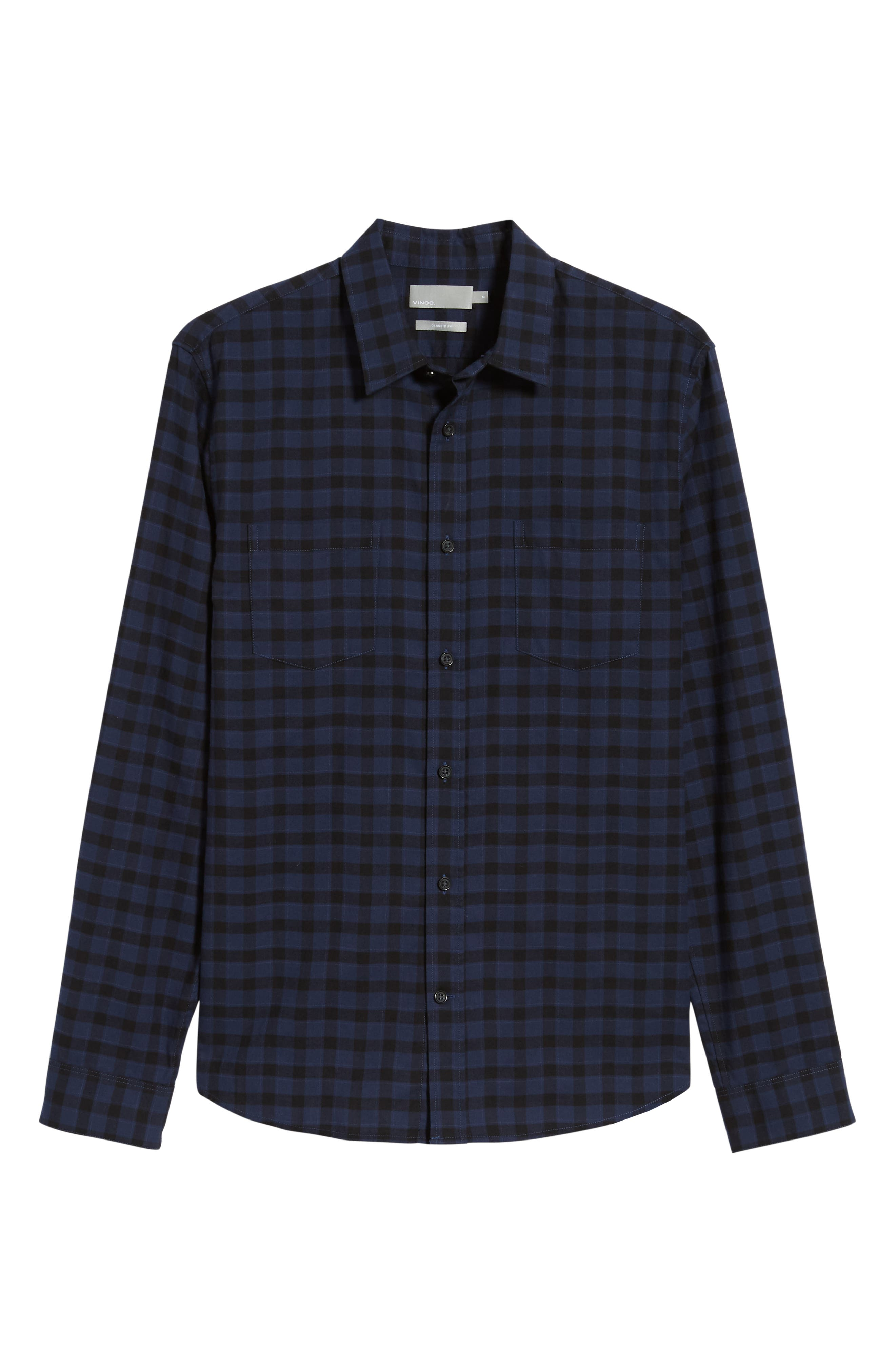 Classic Fit Gingham Sport Shirt,                             Alternate thumbnail 5, color,                             464