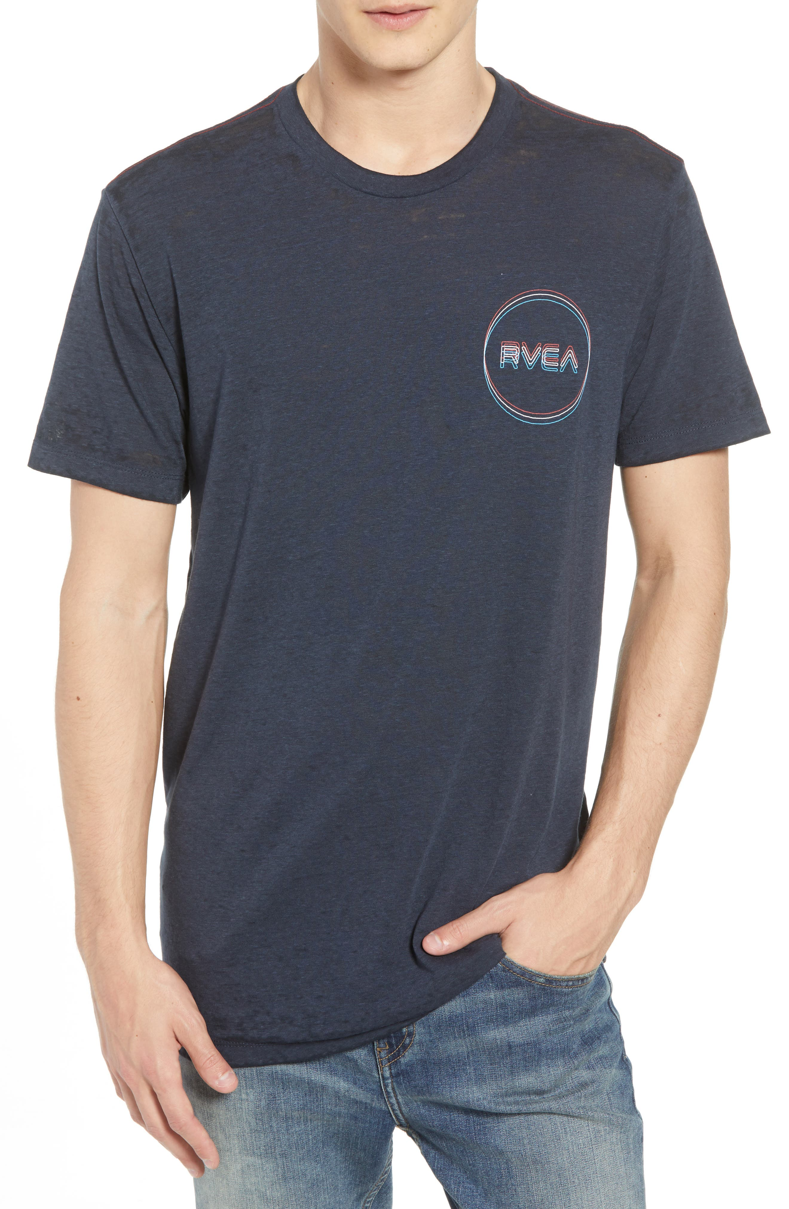 Tri-Motors Burnout T-Shirt,                             Main thumbnail 1, color,                             063