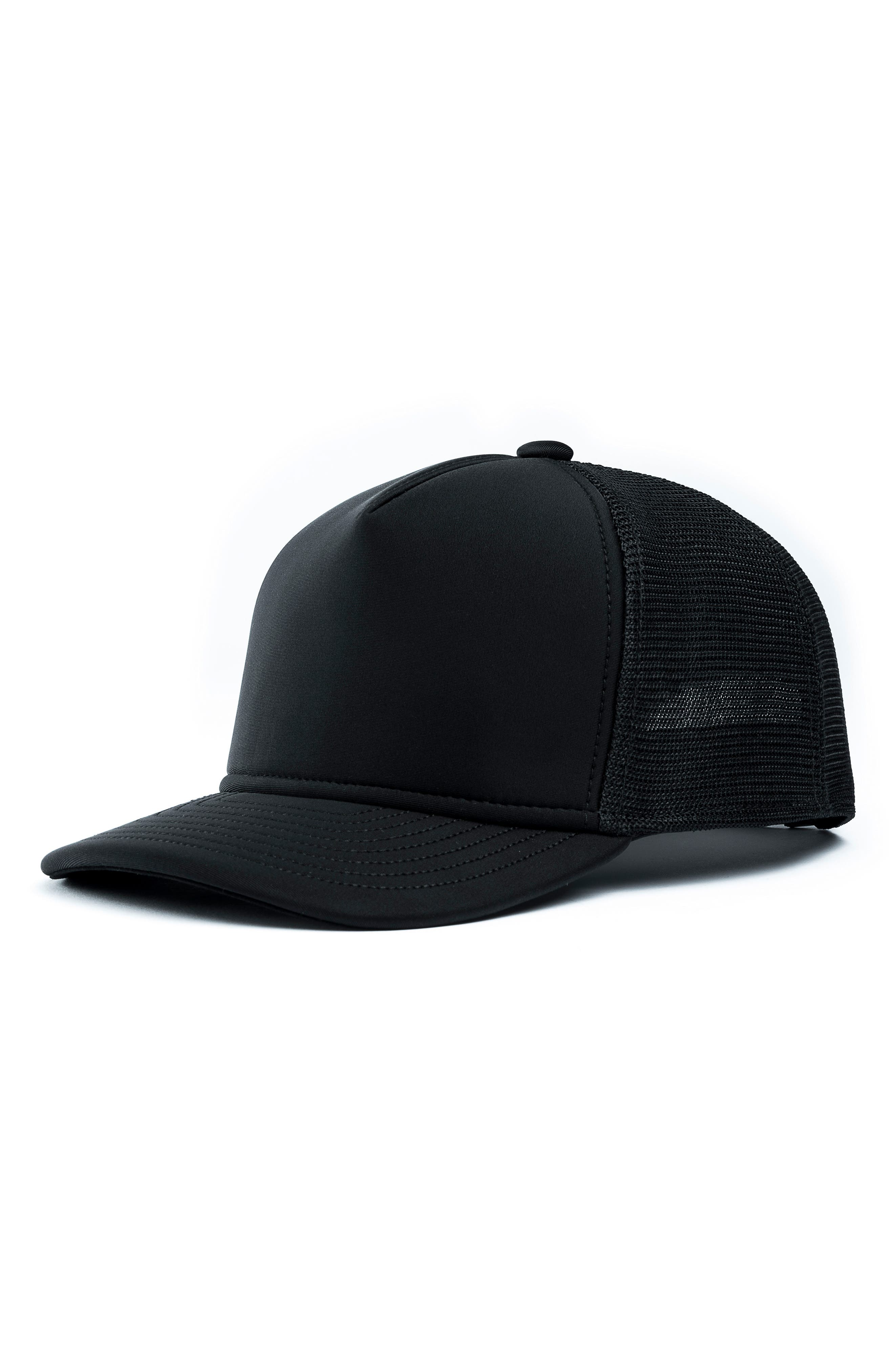 The Marksman Mesh Cap,                         Main,                         color, BLACK