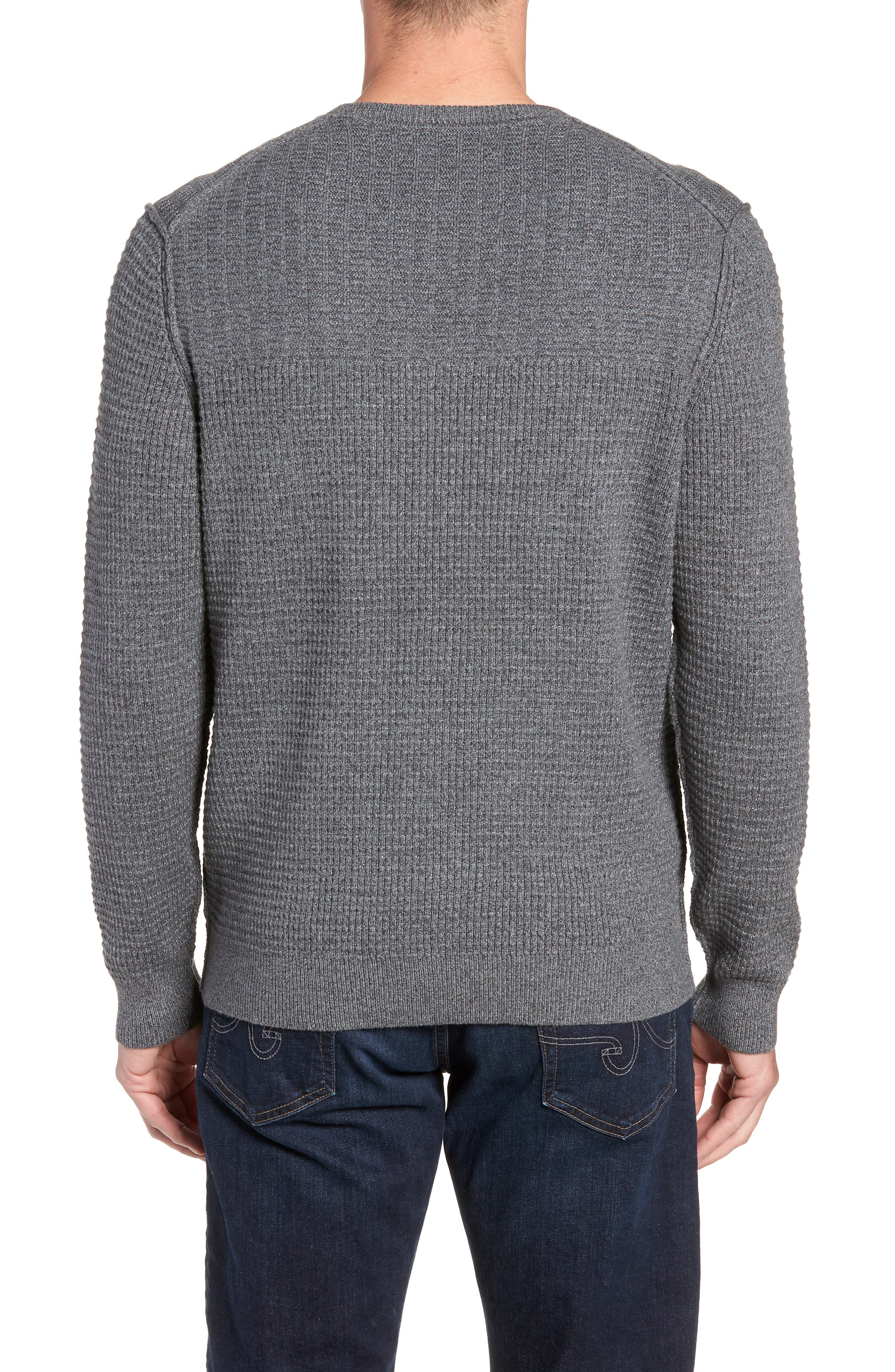 Isidro V-Neck Regular Fit Sweater,                             Alternate thumbnail 2, color,                             CAVE