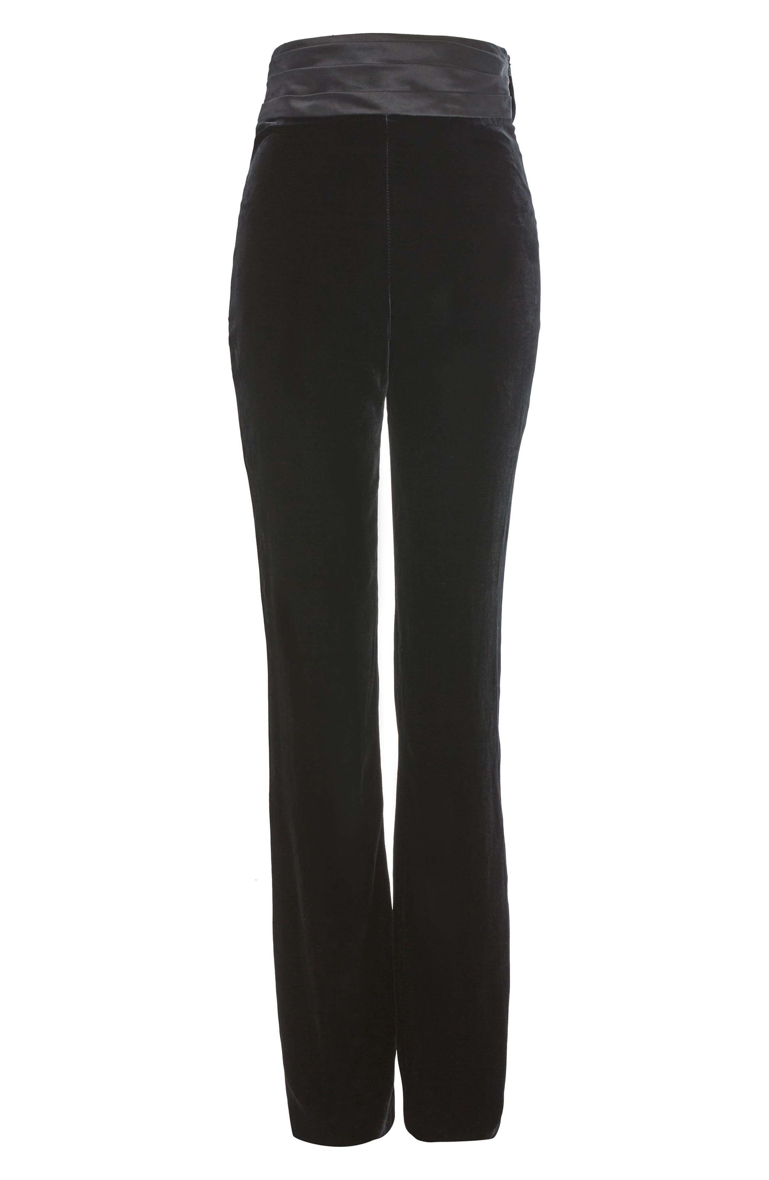 Cummerbund Trousers,                         Main,                         color, 001