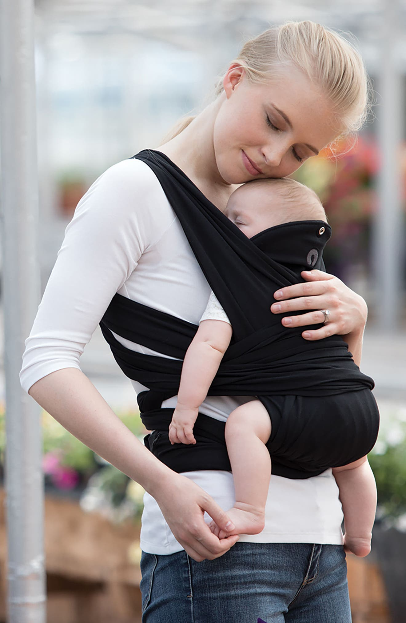 ComfyFit Baby Carrier,                             Alternate thumbnail 8, color,                             BLACK