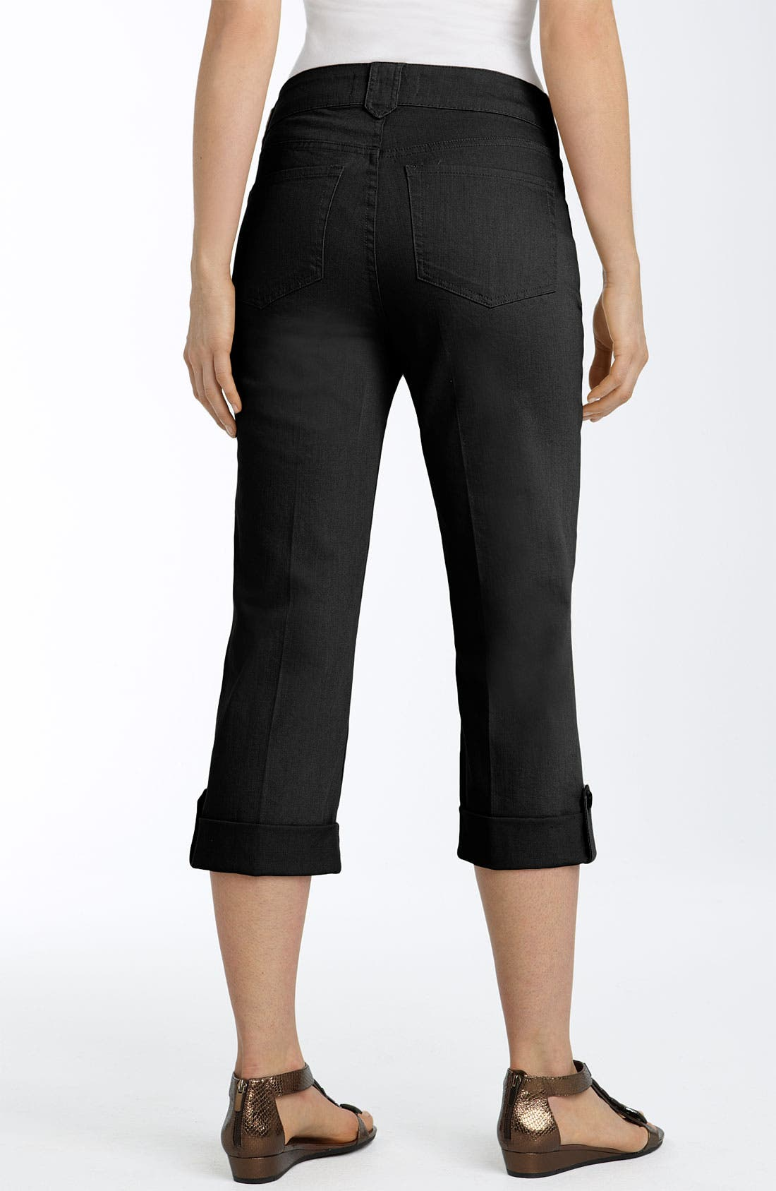 'Katia' Capri Jeans,                             Main thumbnail 1, color,                             001