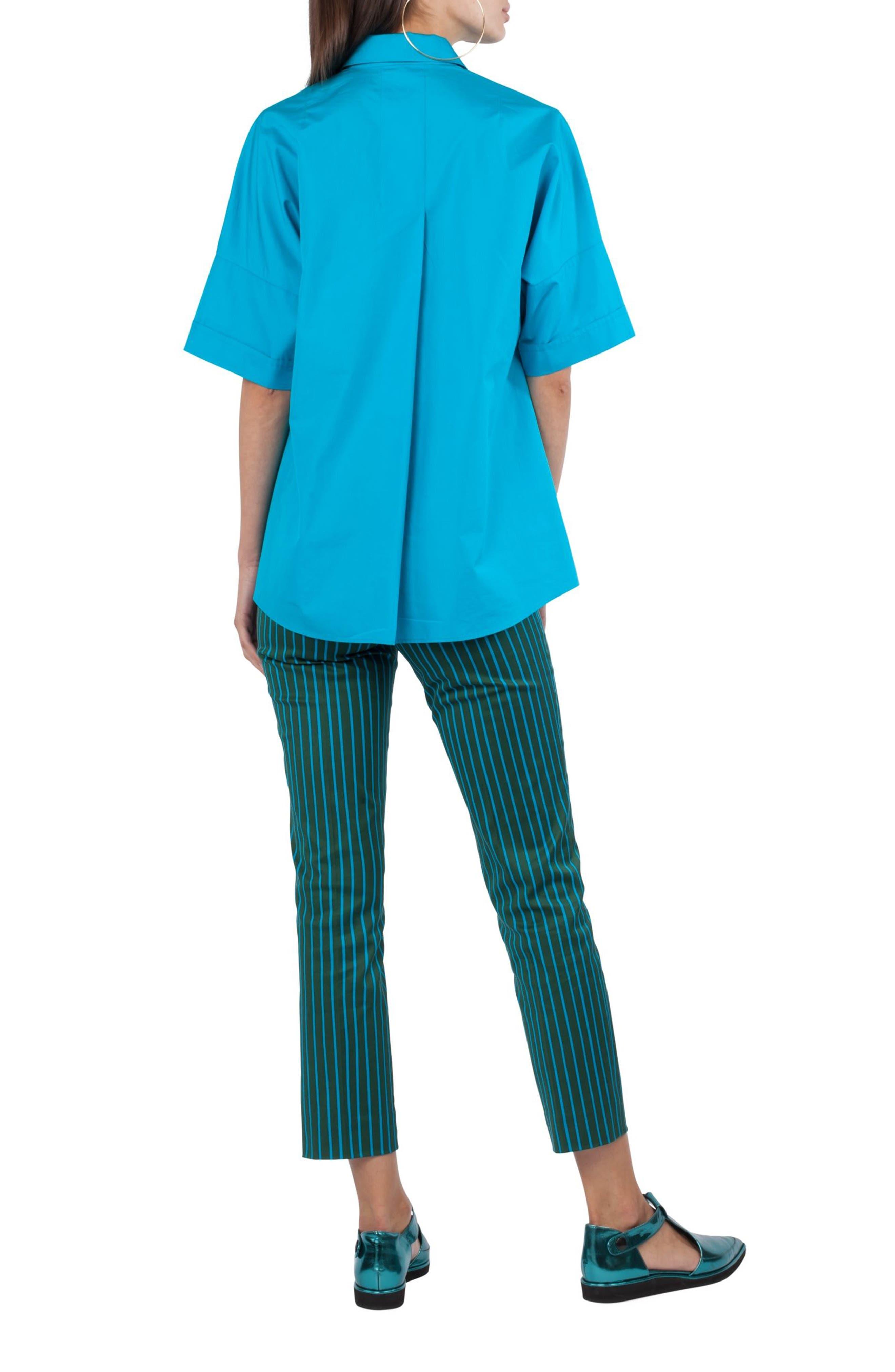 Button Shoulder Kimono Blouse,                             Alternate thumbnail 2, color,                             475
