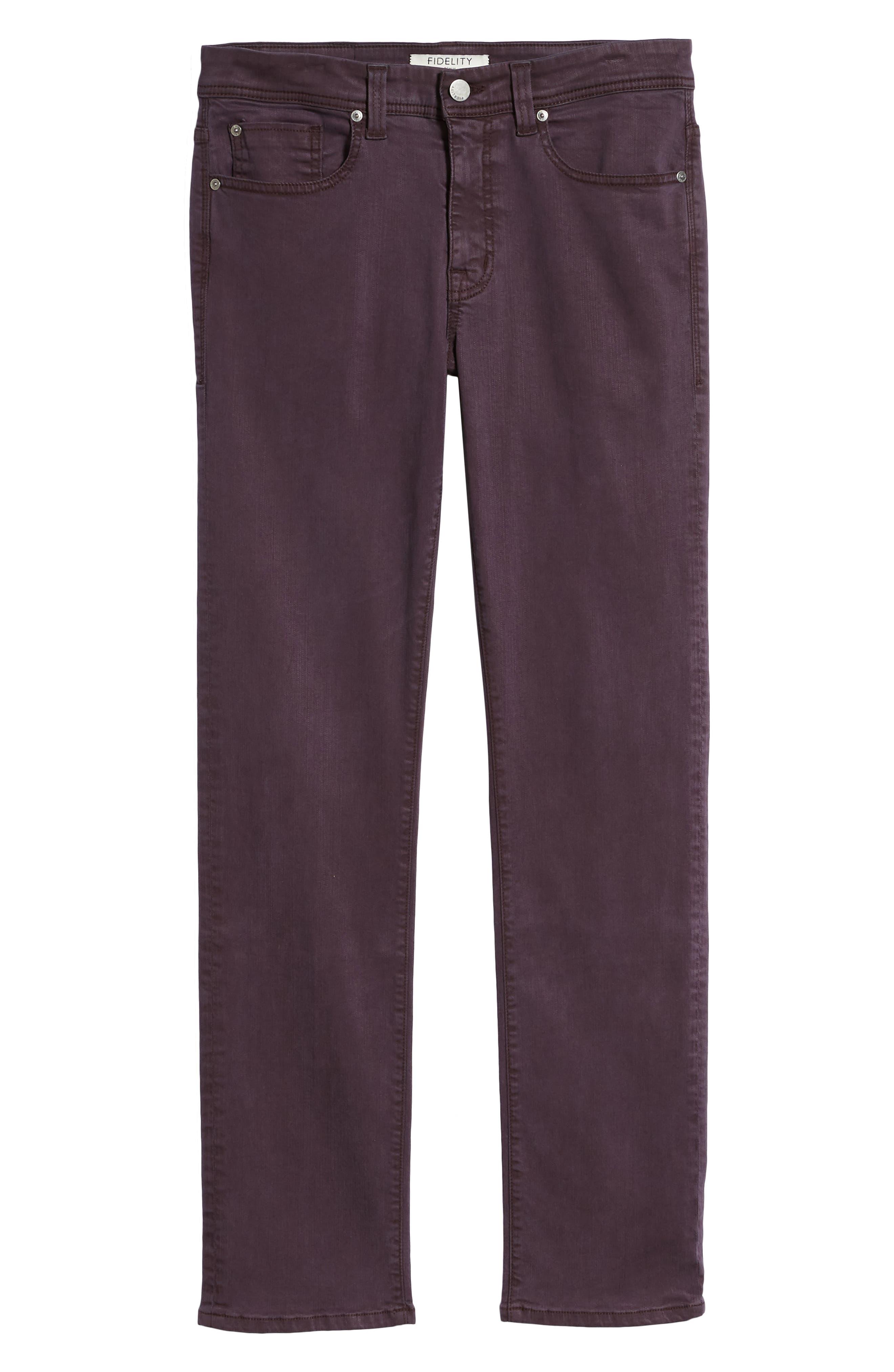 Jimmy Slim Straight Leg Jeans,                             Alternate thumbnail 6, color,                             600