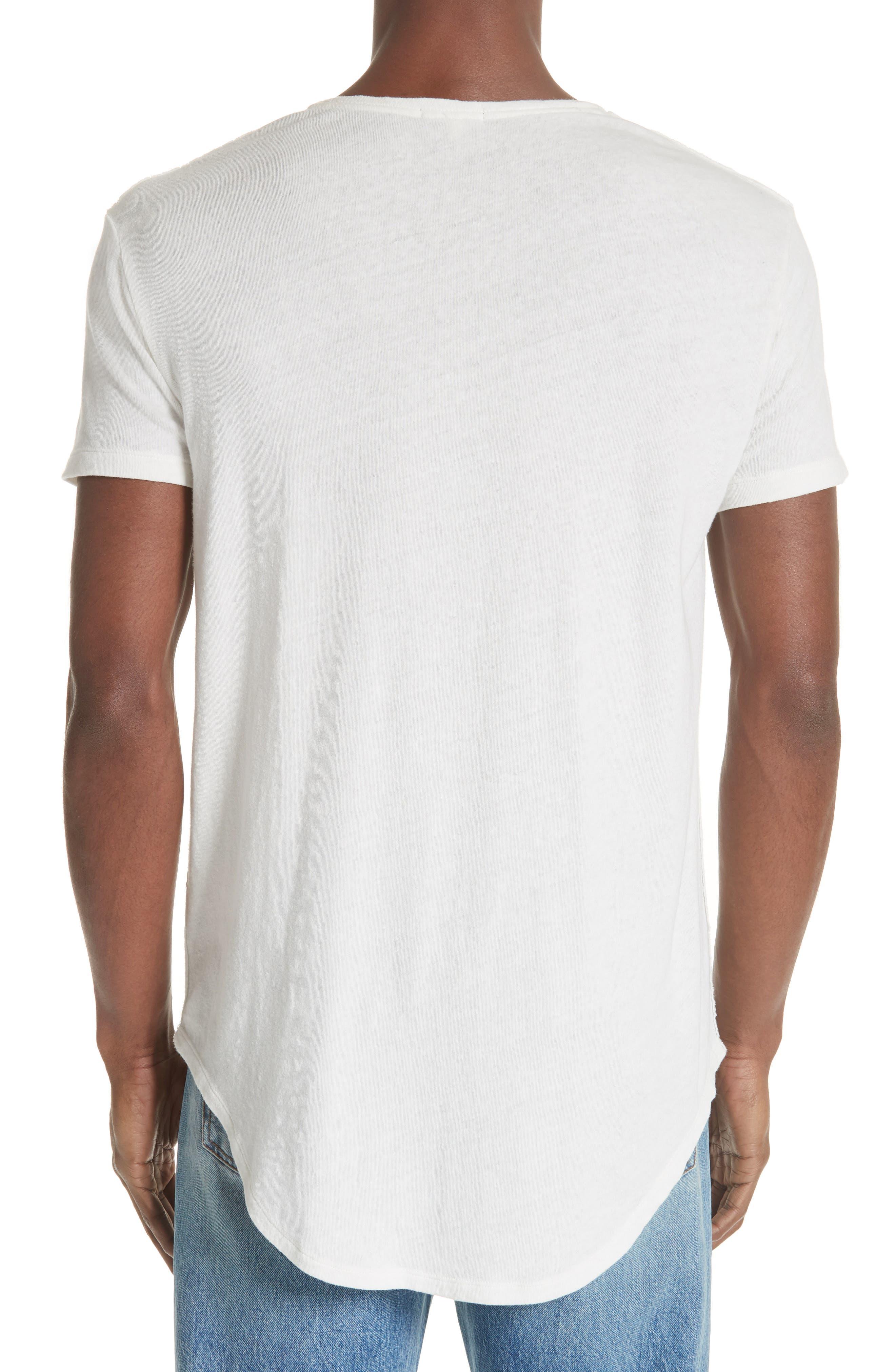 Pocket T-Shirt,                             Alternate thumbnail 2, color,                             WHITE