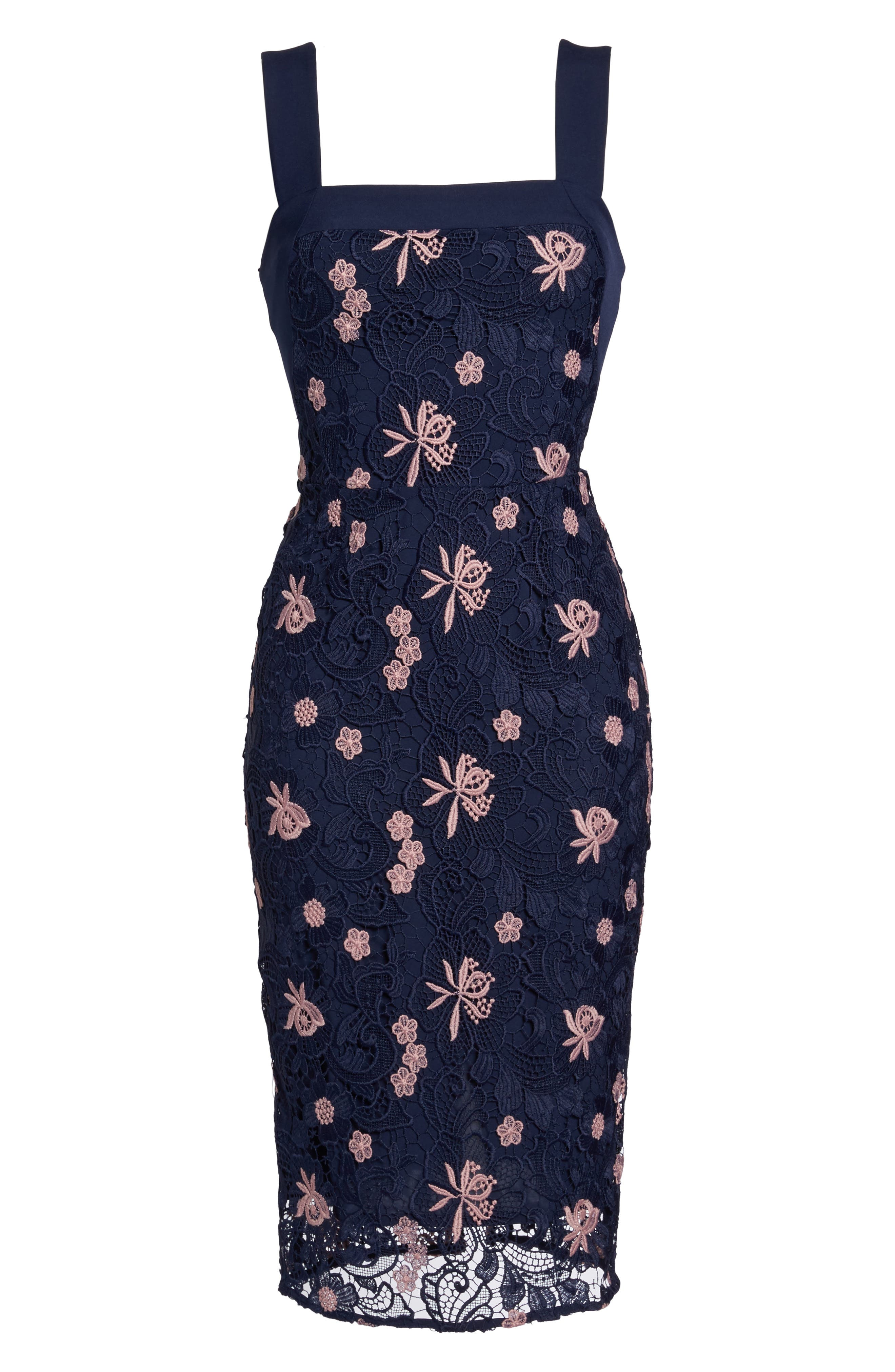 Botanic Bloom Sheath Dress,                             Alternate thumbnail 6, color,