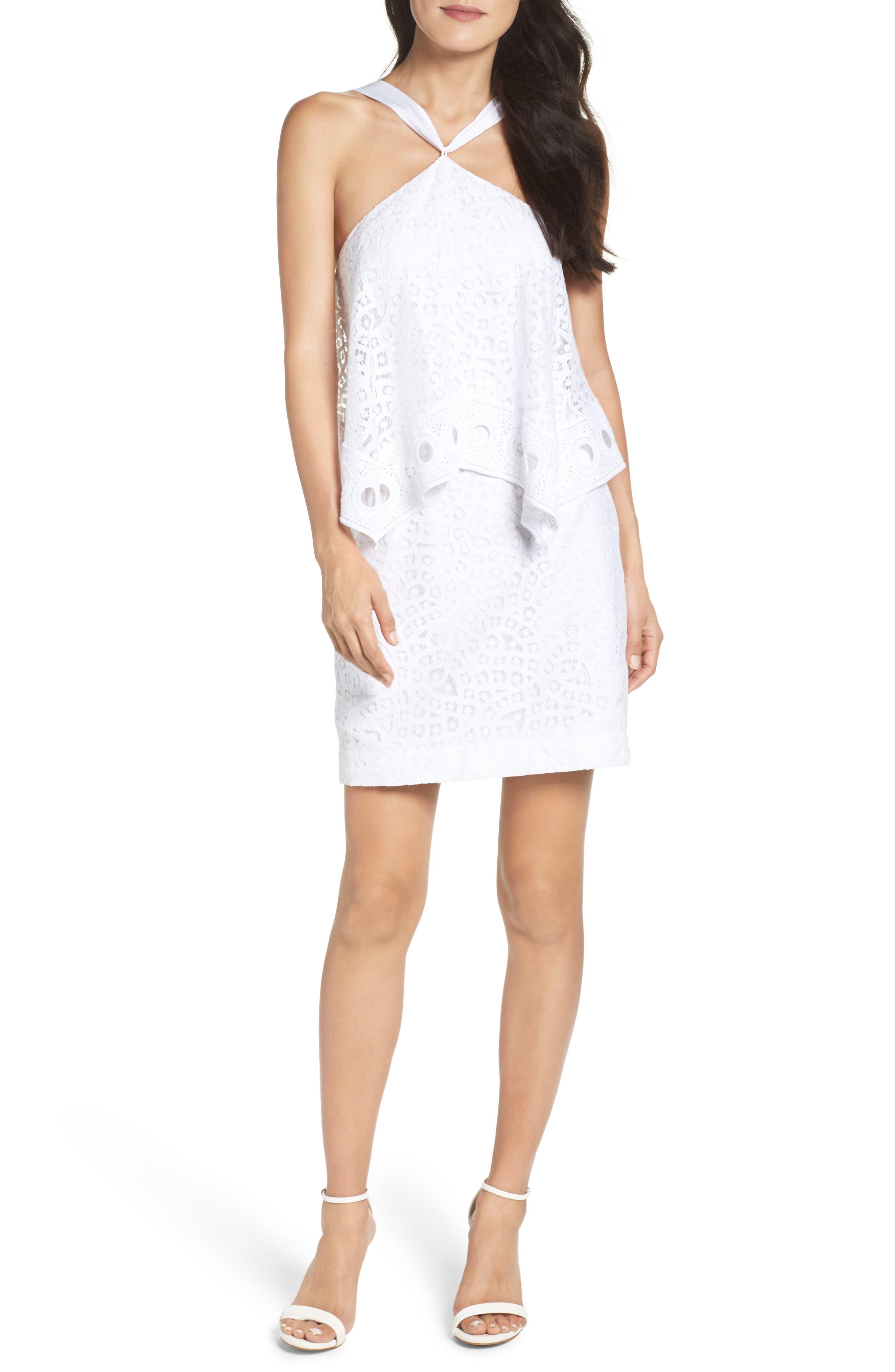 Pearson Popover Dress, Main, color, 115