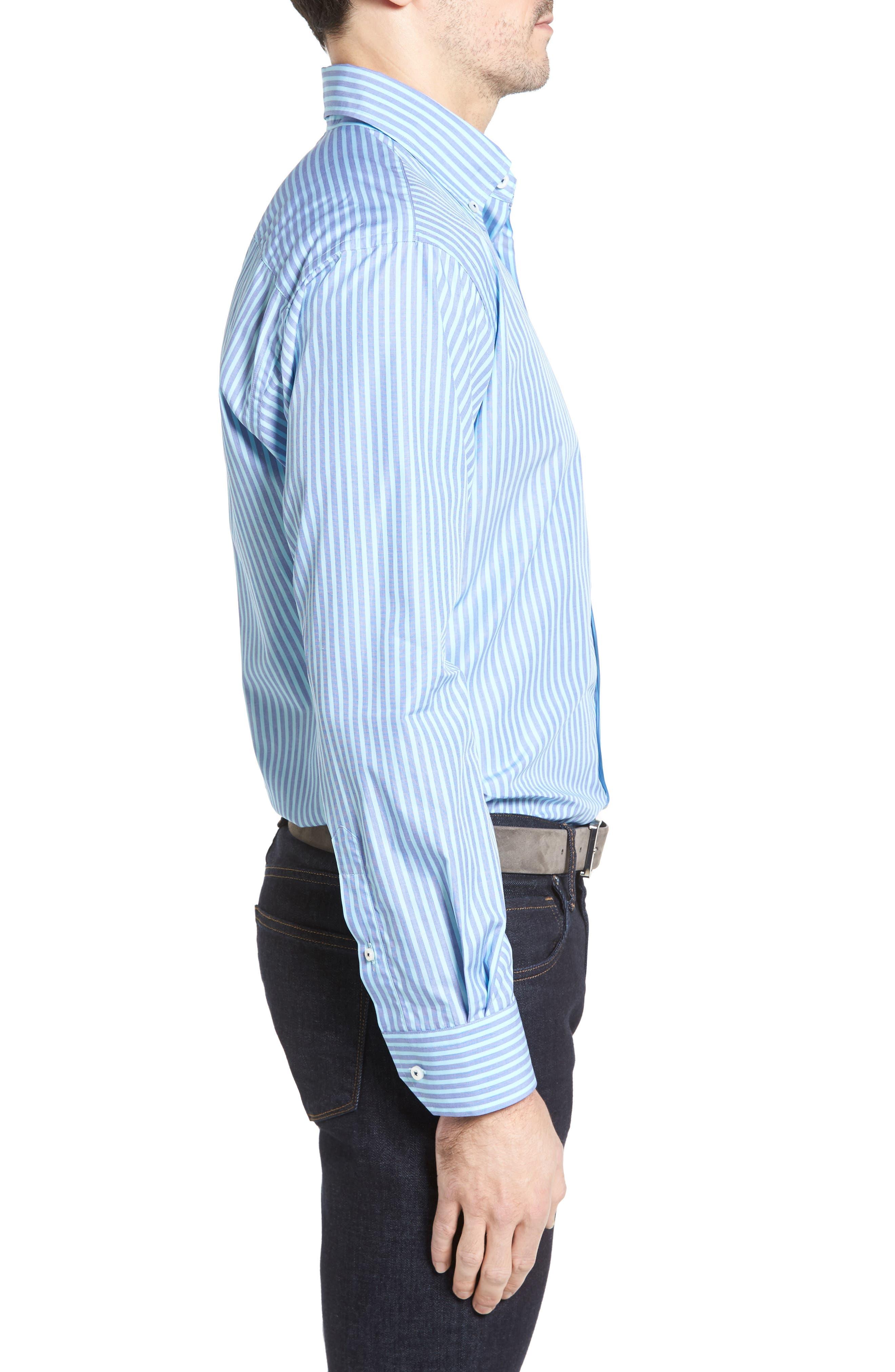 Estate Classic Fit Sport Shirt,                             Alternate thumbnail 3, color,                             401