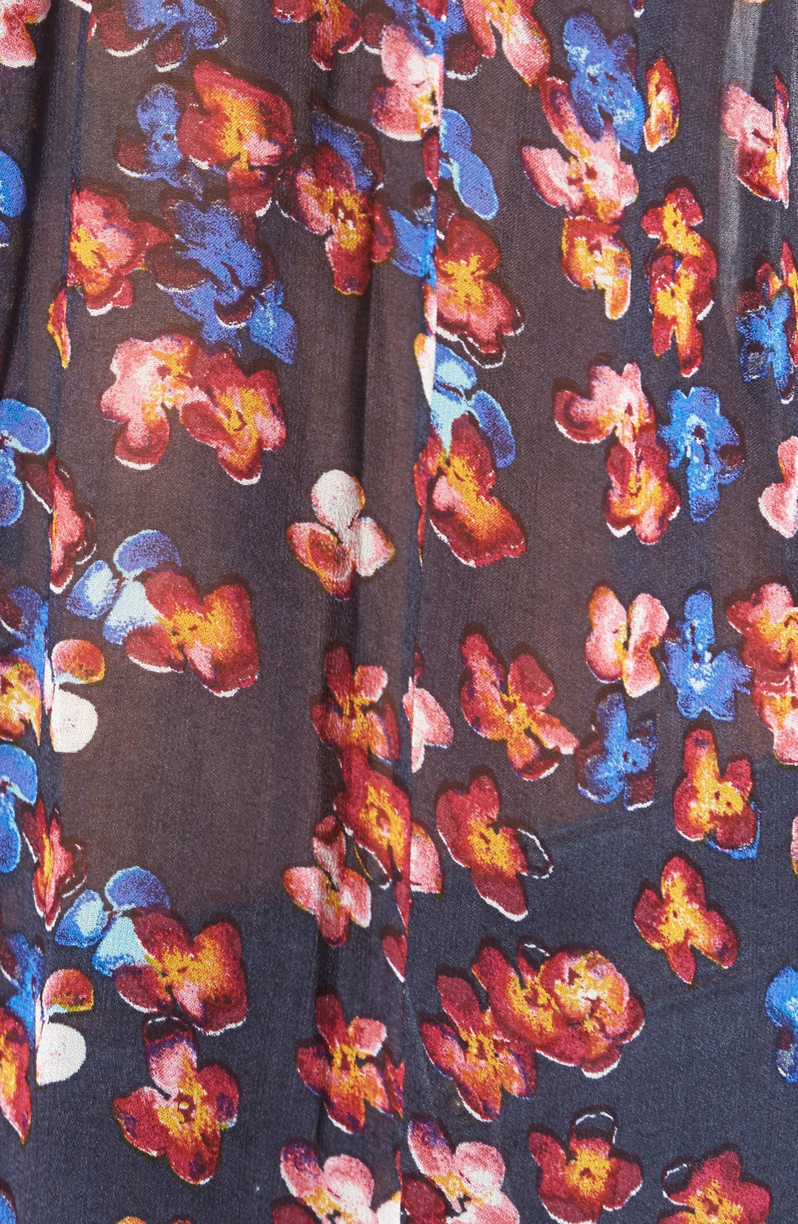 Flutter Sleeve Top,                             Alternate thumbnail 5, color,                             460