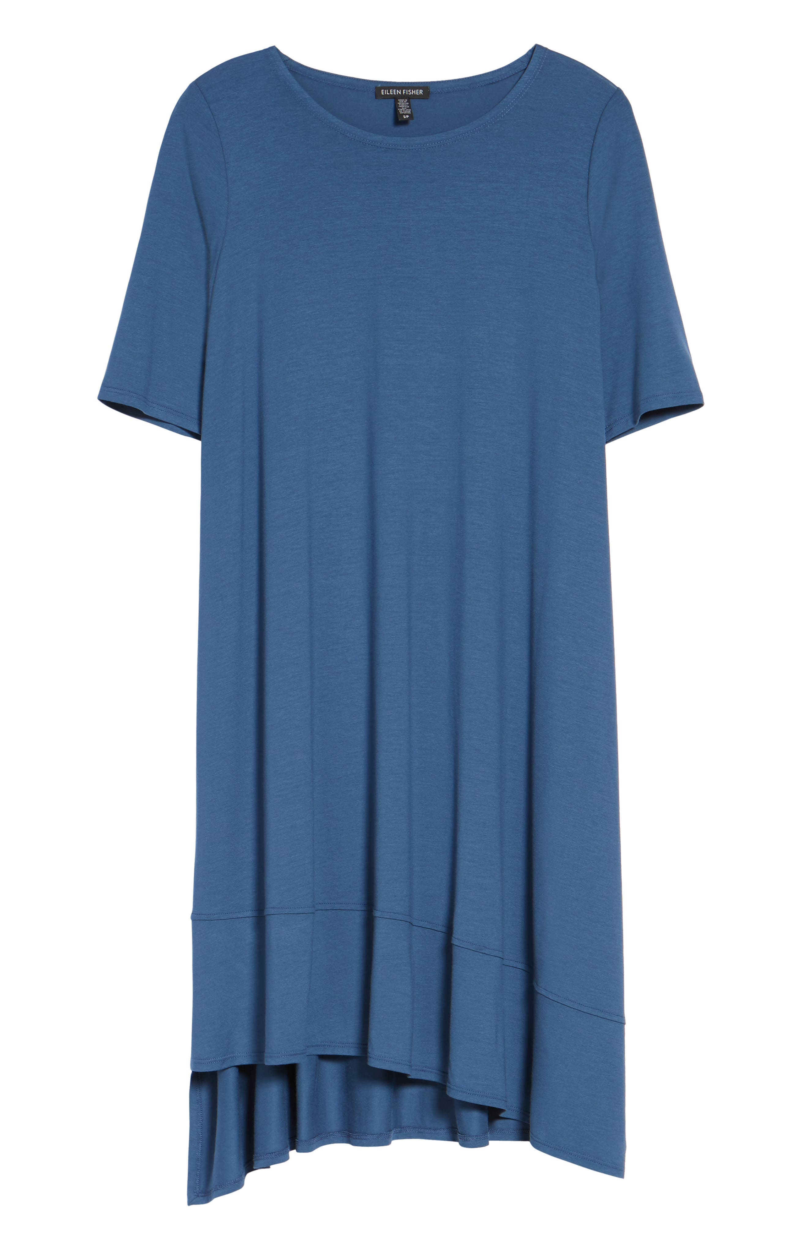 Jersey Asymmetrical A-Line Dress,                             Alternate thumbnail 29, color,