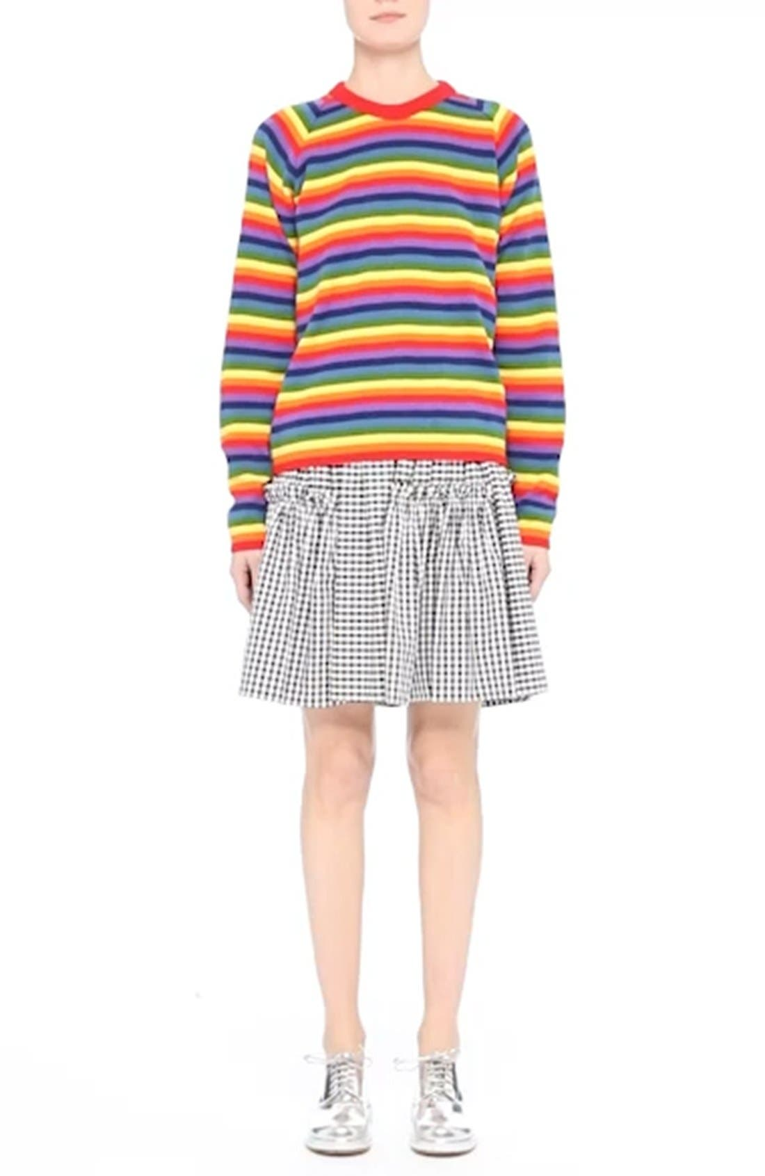 Charlie Rainbow Sweater,                             Alternate thumbnail 7, color,                             600