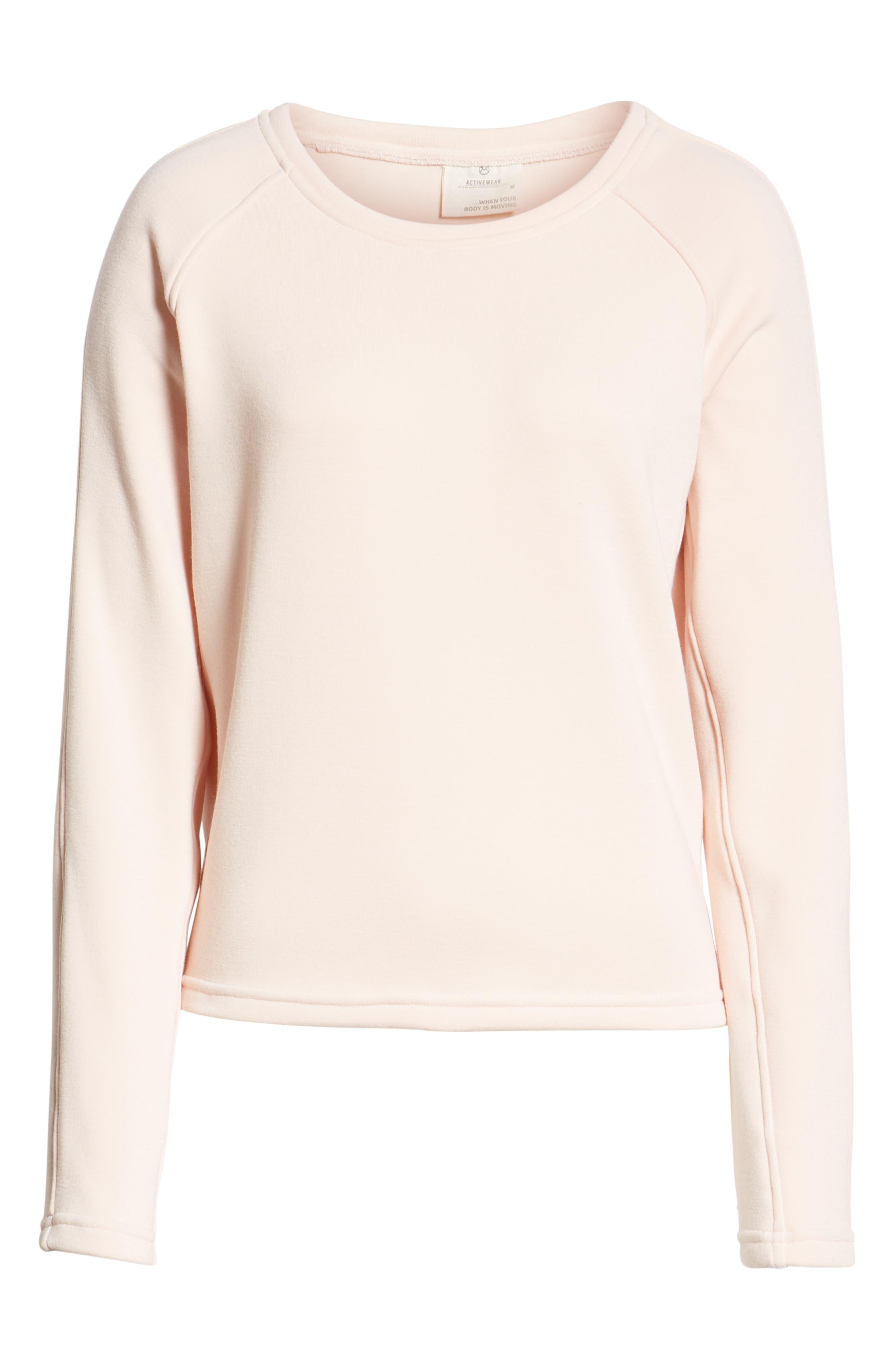 Cinch Blush Sweatshirt,                             Alternate thumbnail 2, color,                             680