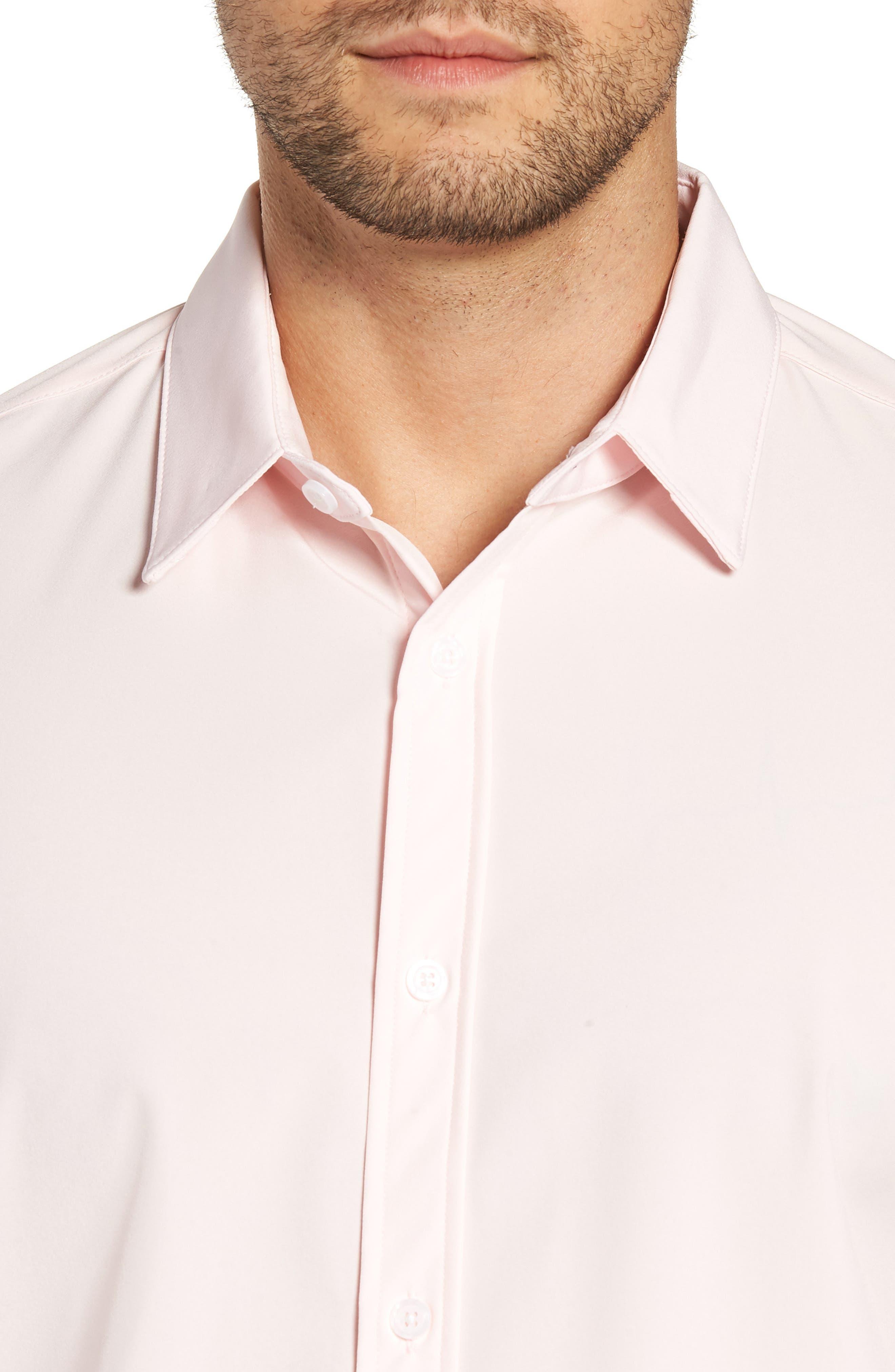 Buchanan Regular Fit Sport Shirt,                             Alternate thumbnail 2, color,                             PINK