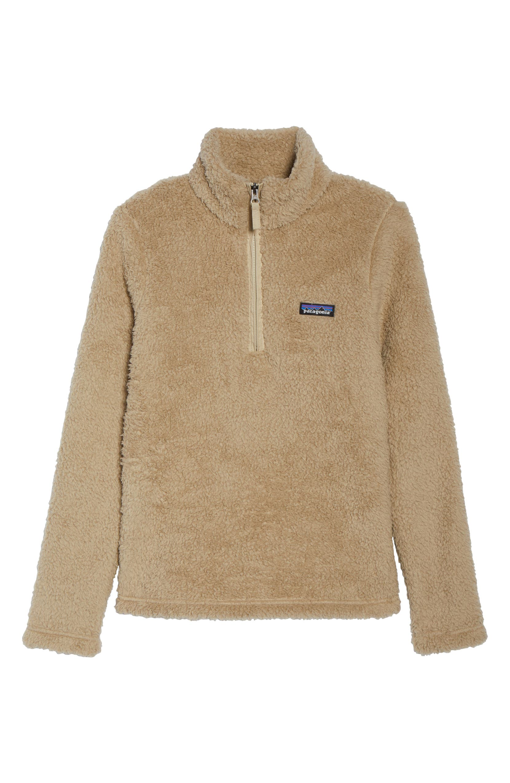 Los Gatos Fleece Pullover,                         Alternate,                         color, EL CAP KHAKI