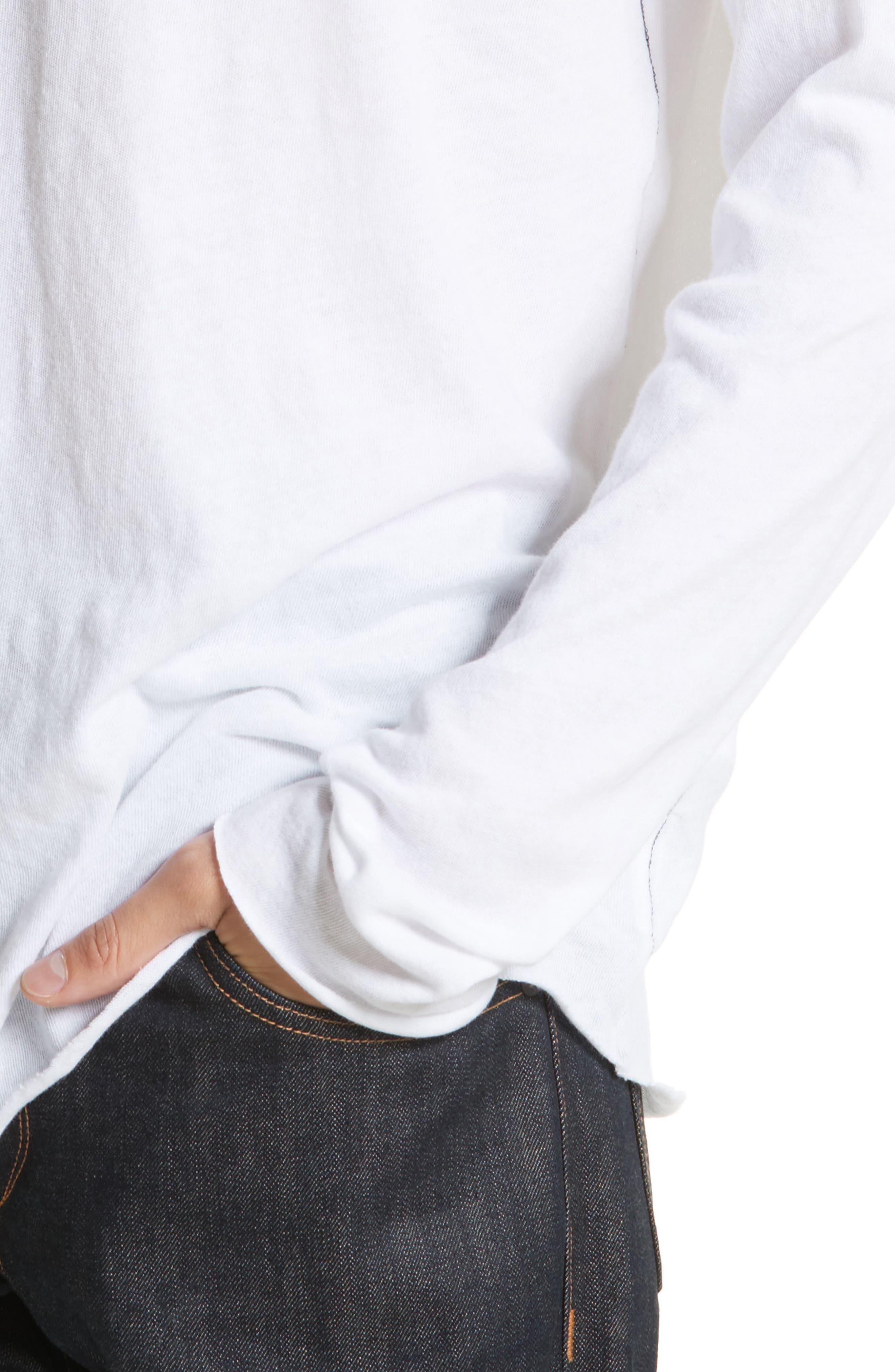 Rupert Long Sleeve T-Shirt,                             Alternate thumbnail 4, color,                             100