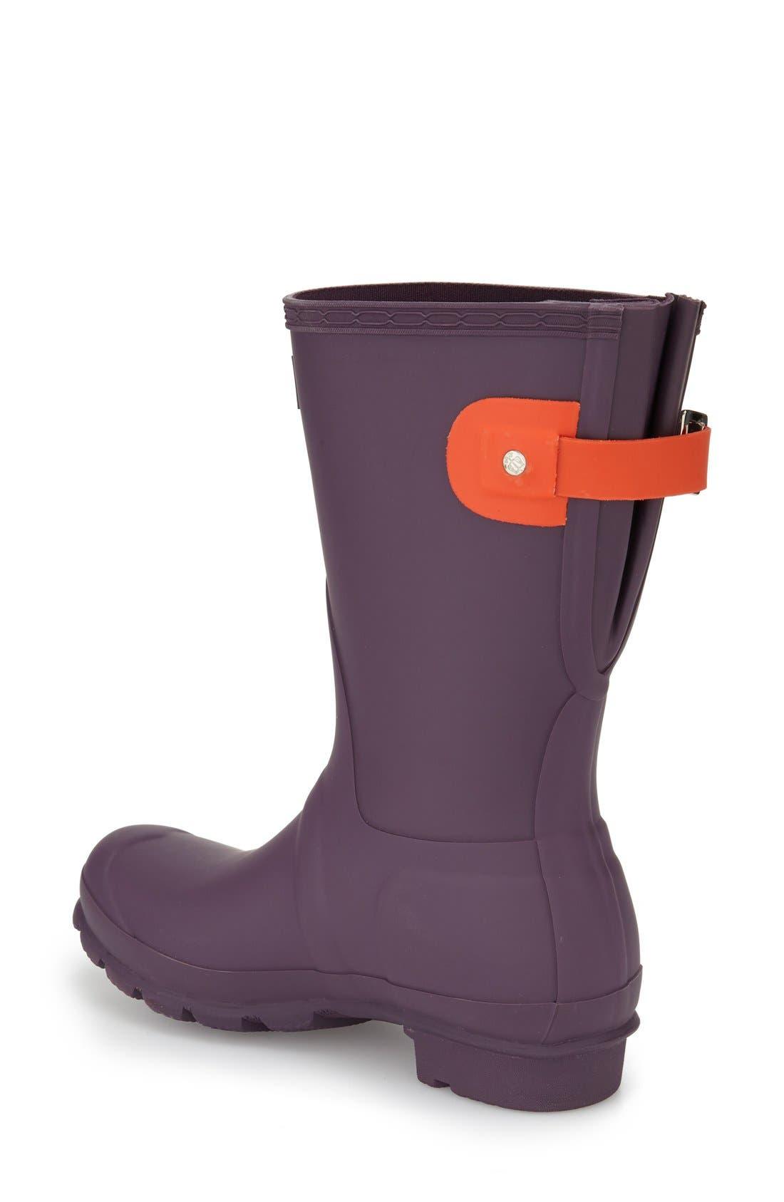Original Short Back Adjustable Rain Boot,                             Alternate thumbnail 27, color,