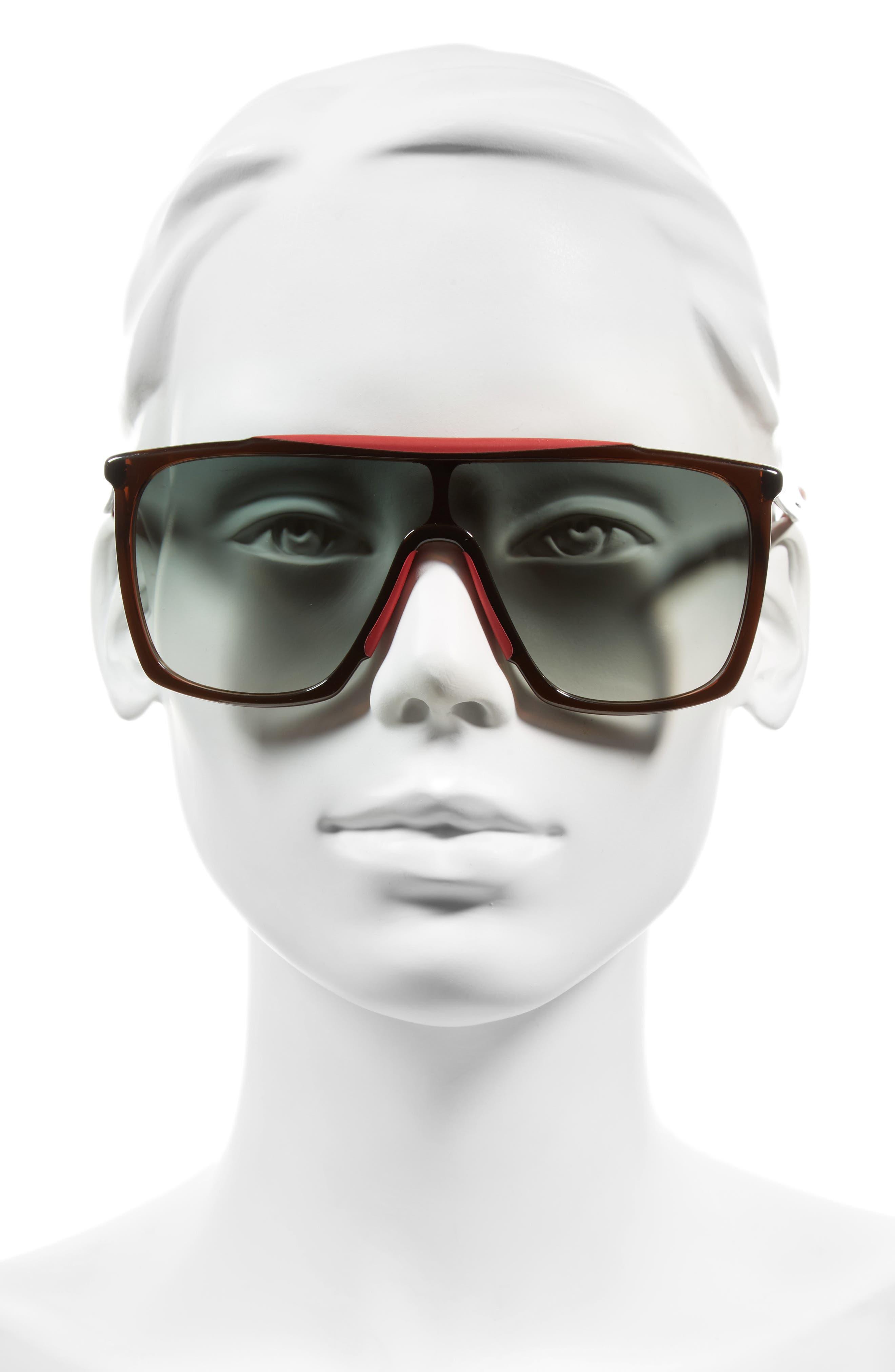 53mm Mask Sunglasses,                             Alternate thumbnail 6, color,