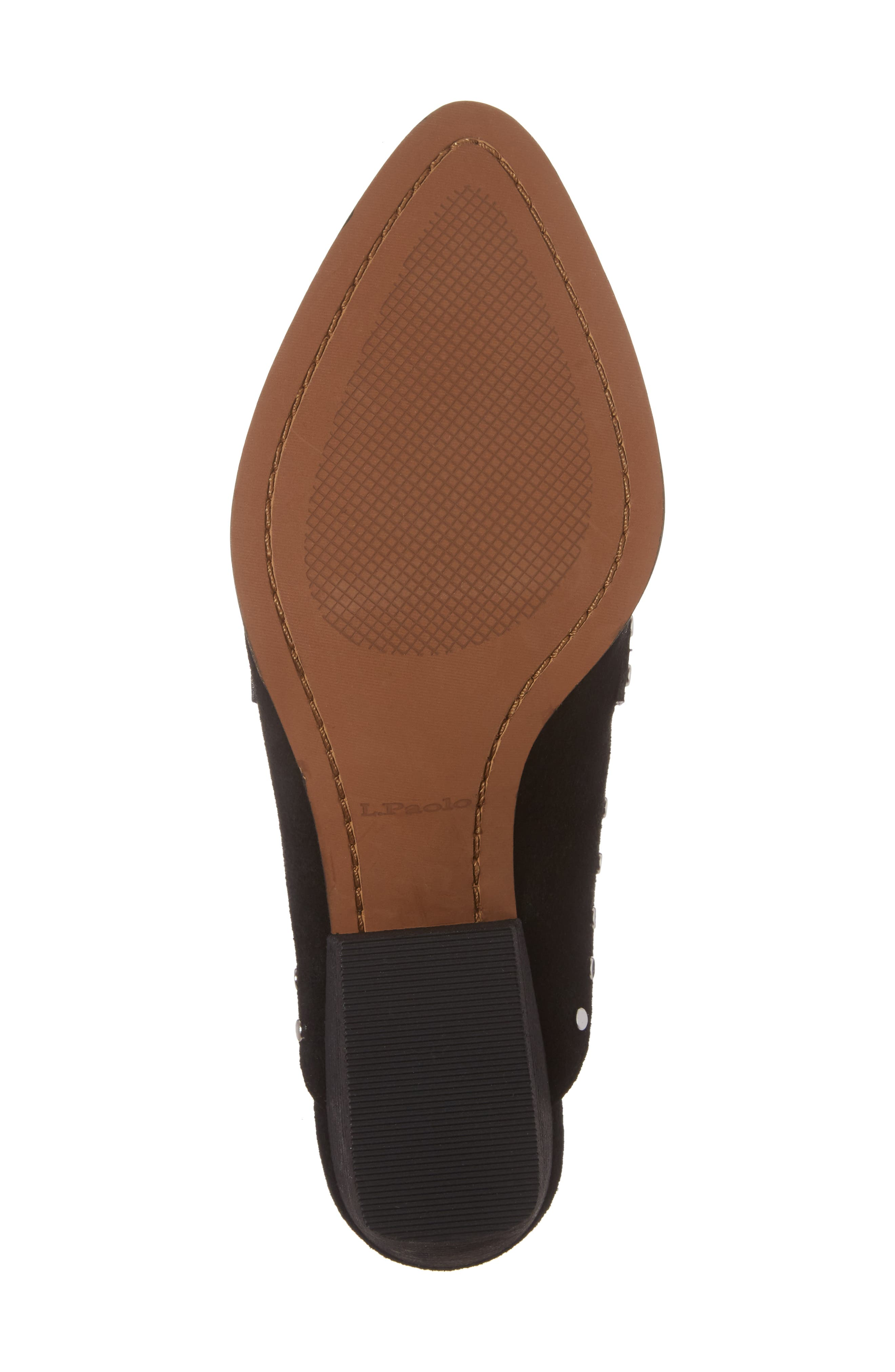 Donna Studded Mule,                             Alternate thumbnail 6, color,                             001