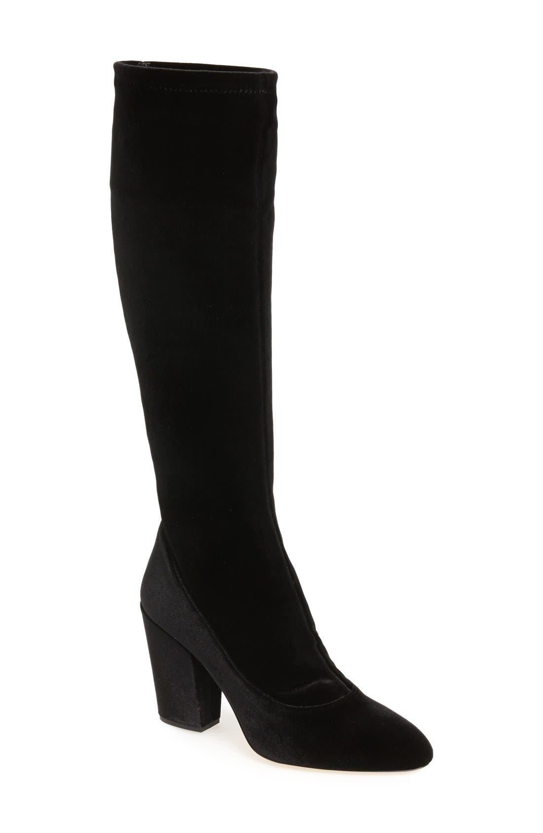 DEIMILLE Della Pia Tall Boot, Main, color, 001