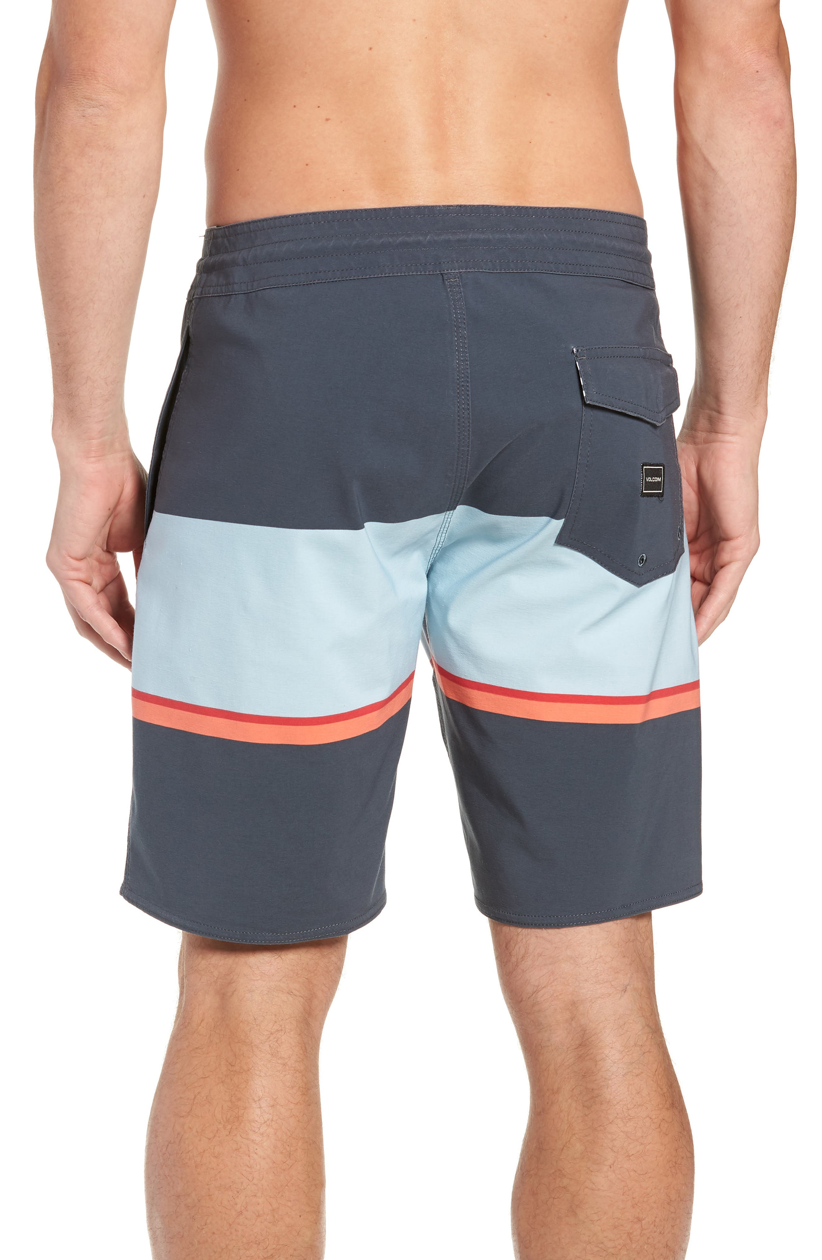 3 Quarta Stoney Board Shorts,                             Alternate thumbnail 2, color,                             MEDIUM BLUE