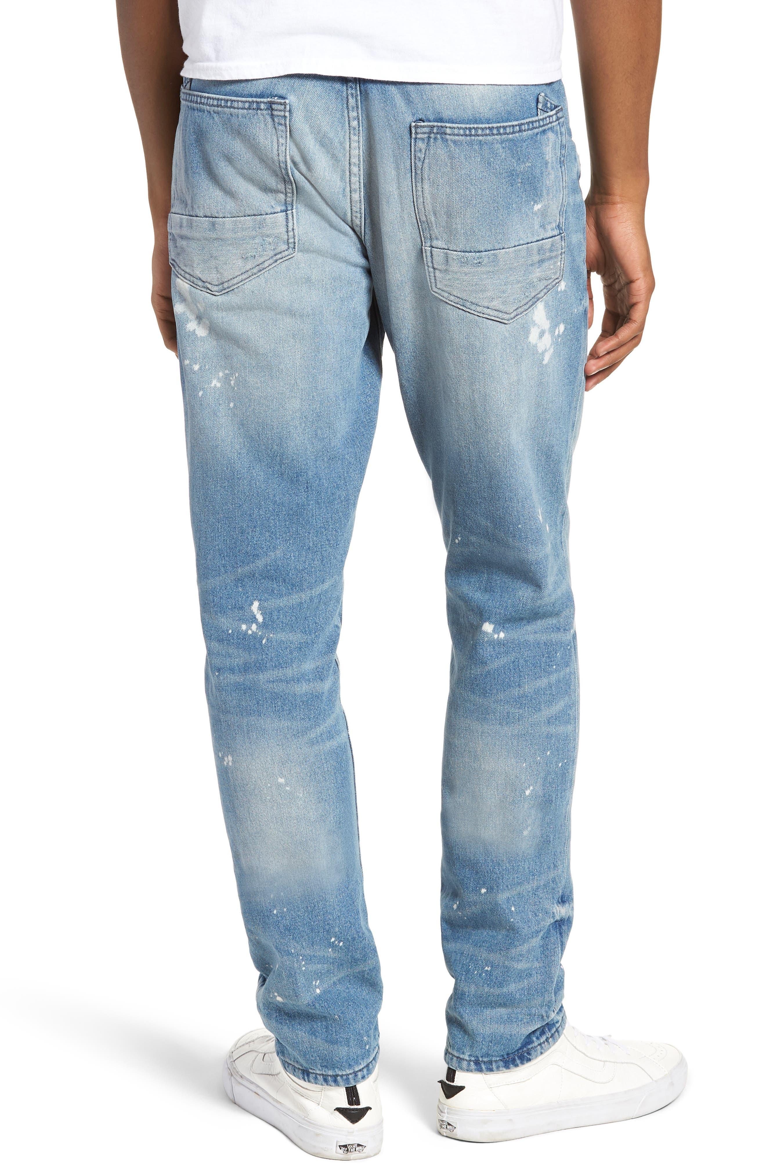 PRPS,                             Le Sabre Slim Fit Jeans,                             Alternate thumbnail 2, color,                             TAWDRY