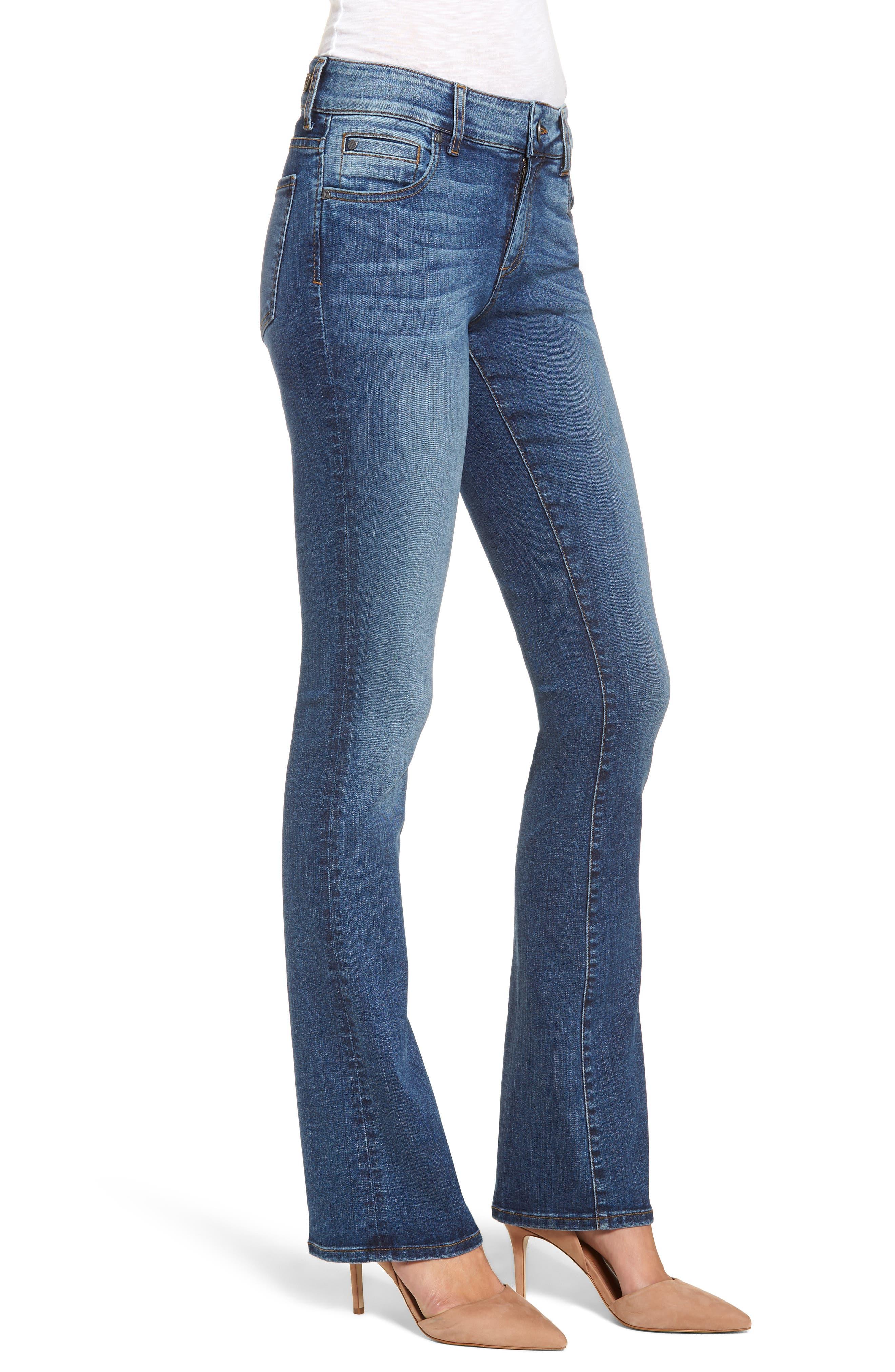 Natalie Bootcut Jeans,                             Alternate thumbnail 3, color,                             460