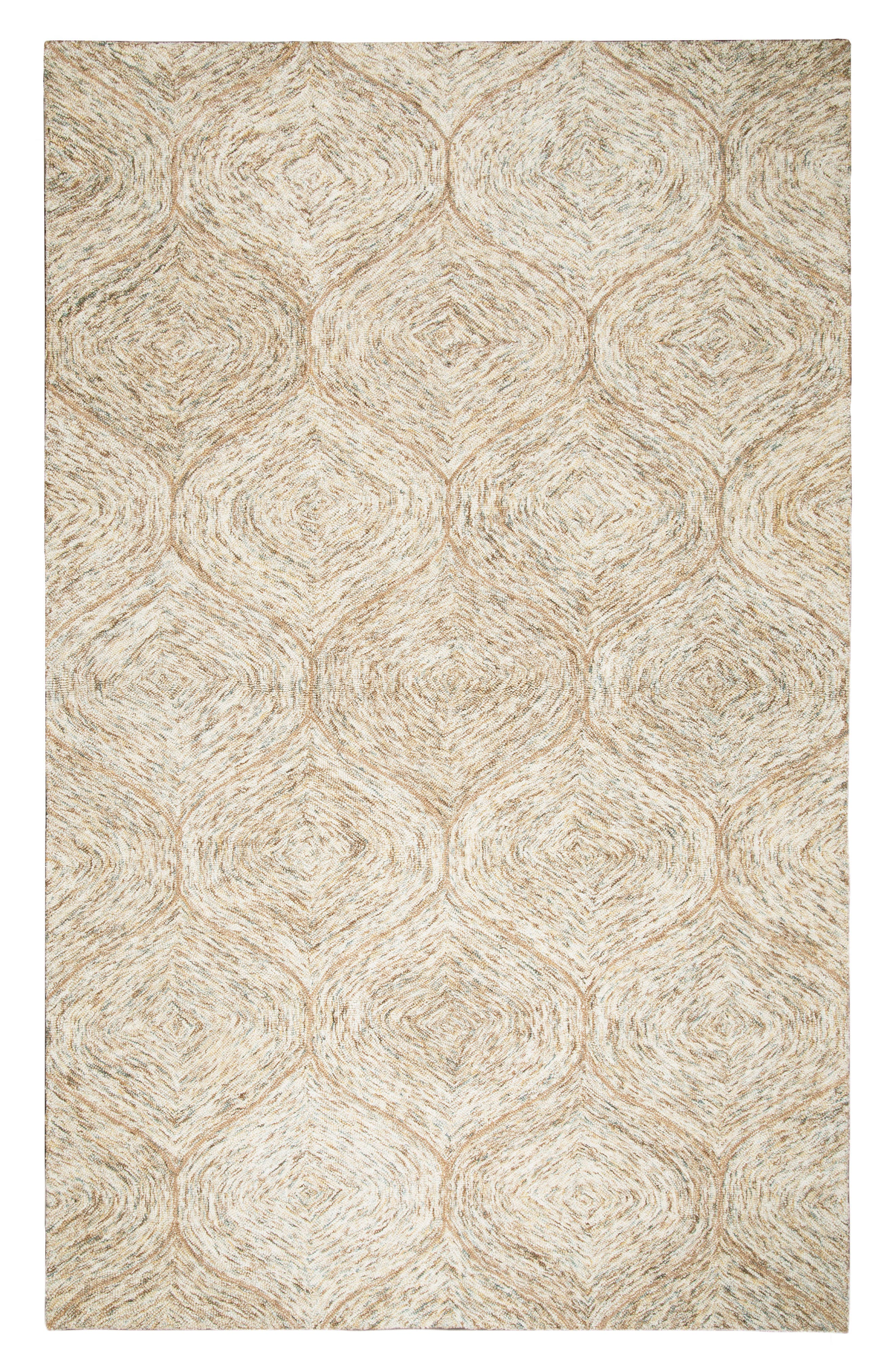 Irregular Diamond Hand Tufted Wool Area Rug,                             Main thumbnail 1, color,                             200