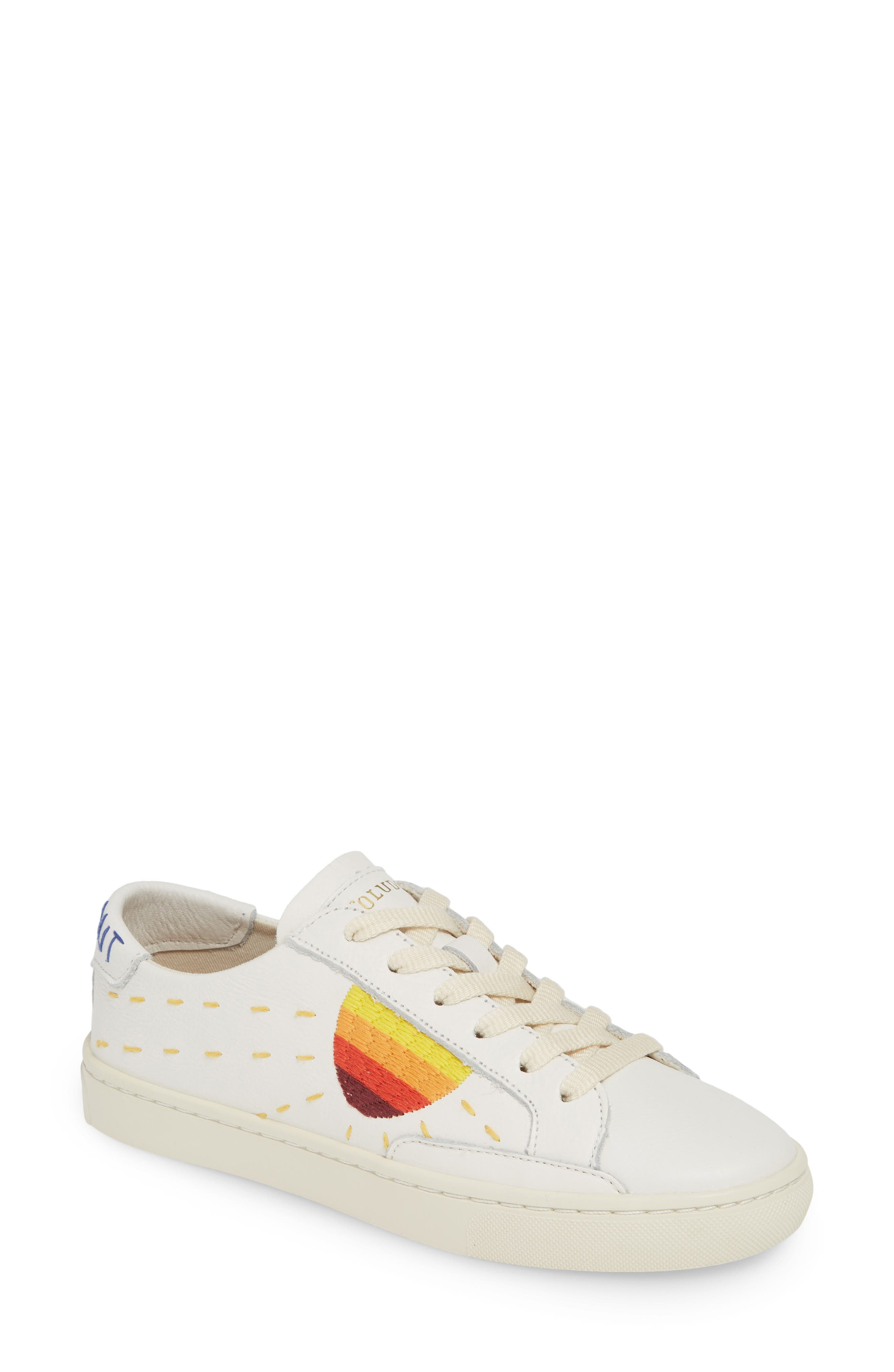 Peace Out Sun Sneaker by Soludos