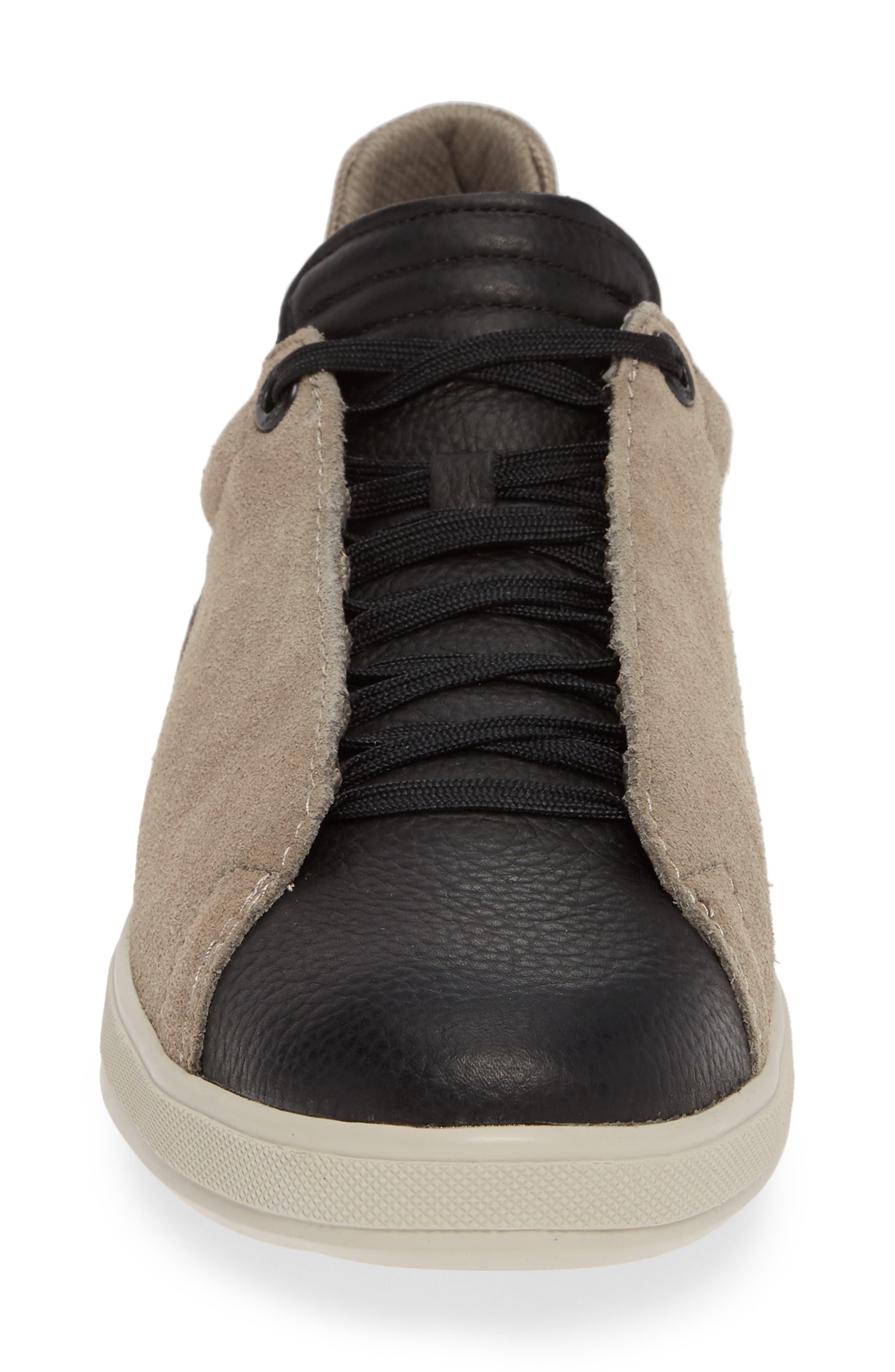 Joe Papa Low Top Sneaker,                             Alternate thumbnail 4, color,                             STONE/ BLACK