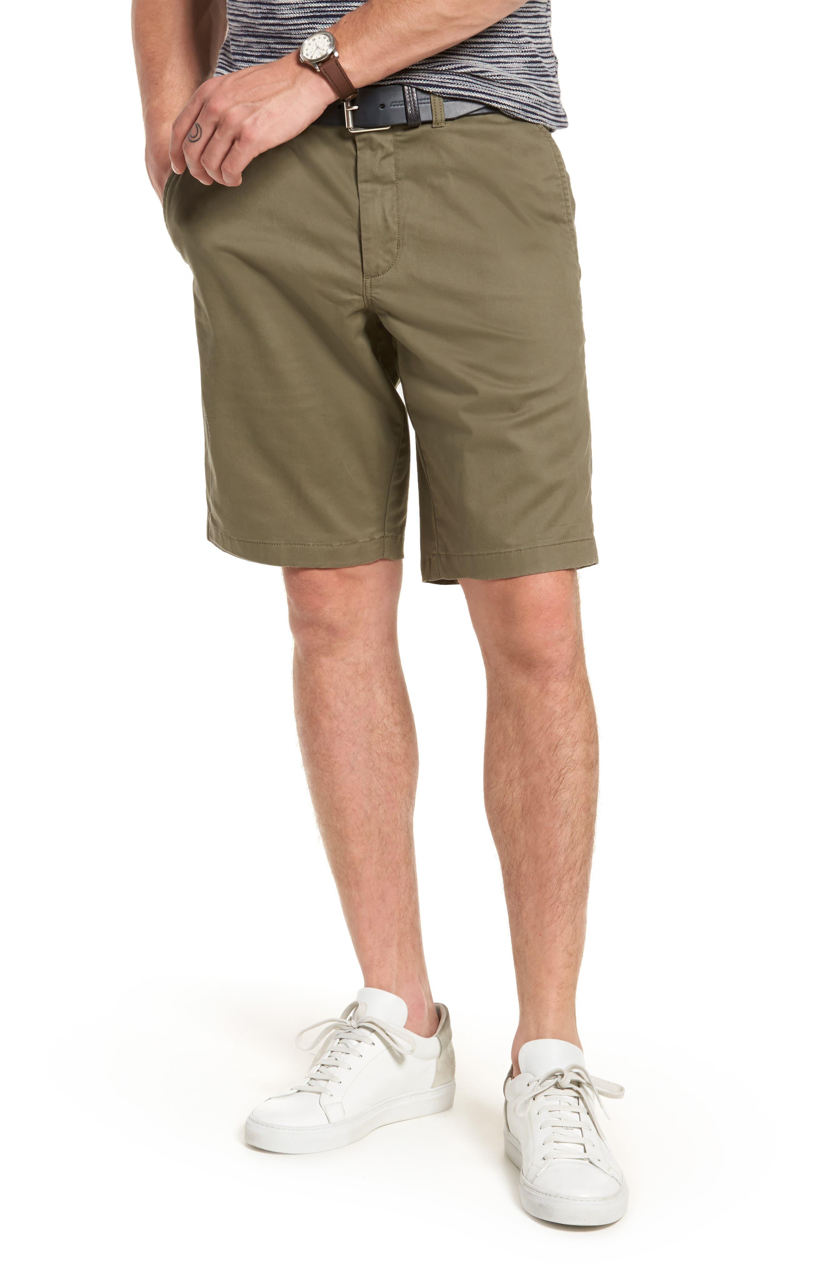 Ballard Slim Fit Stretch Chino 11-Inch Shorts,                             Main thumbnail 7, color,