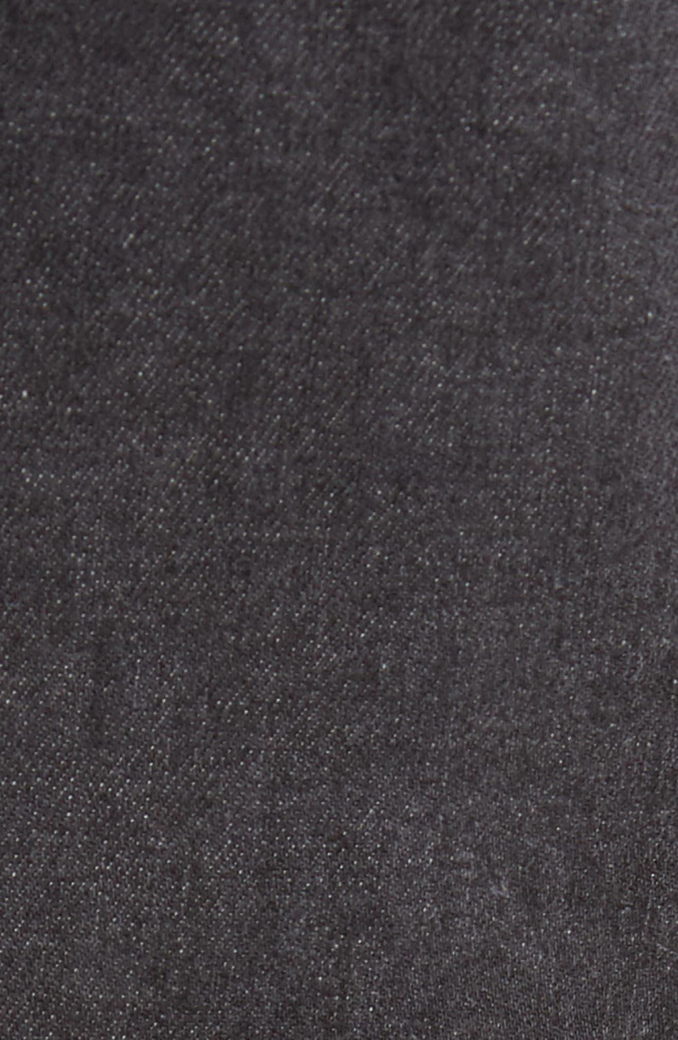 Joe Blow Destroyed Denim Jeans,                             Alternate thumbnail 5, color,                             BLACK