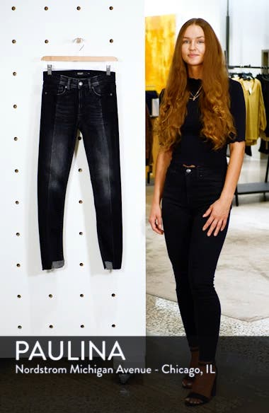 Nico Step Hem Crop Super Skinny Jeans, sales video thumbnail