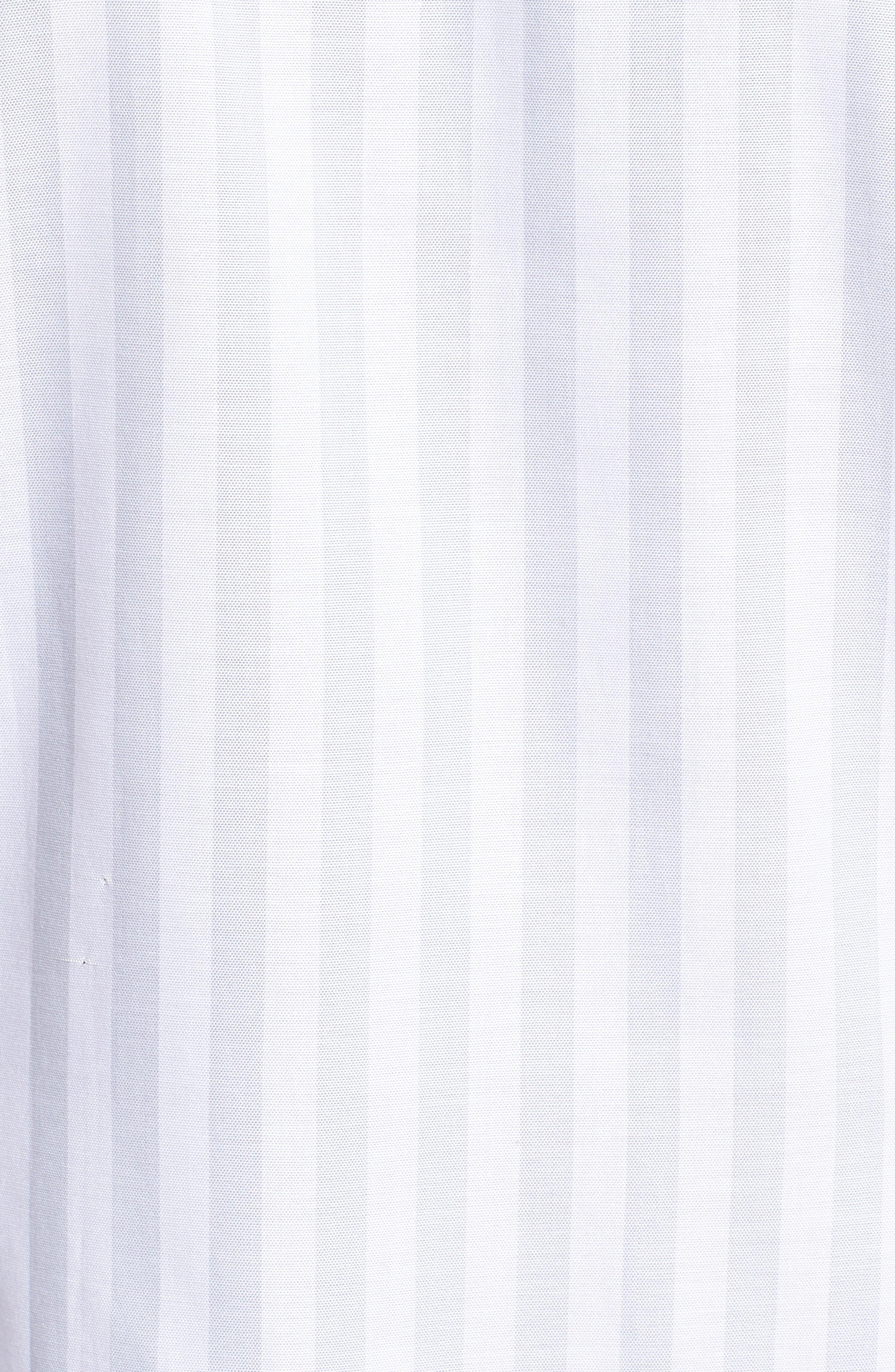 TED BAKER LONDON,                             Vertical Stripe Trim Fit Short Sleeve Sport Shirt,                             Alternate thumbnail 5, color,                             311
