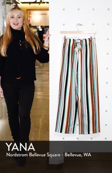 Stripe Slouch Pants, sales video thumbnail