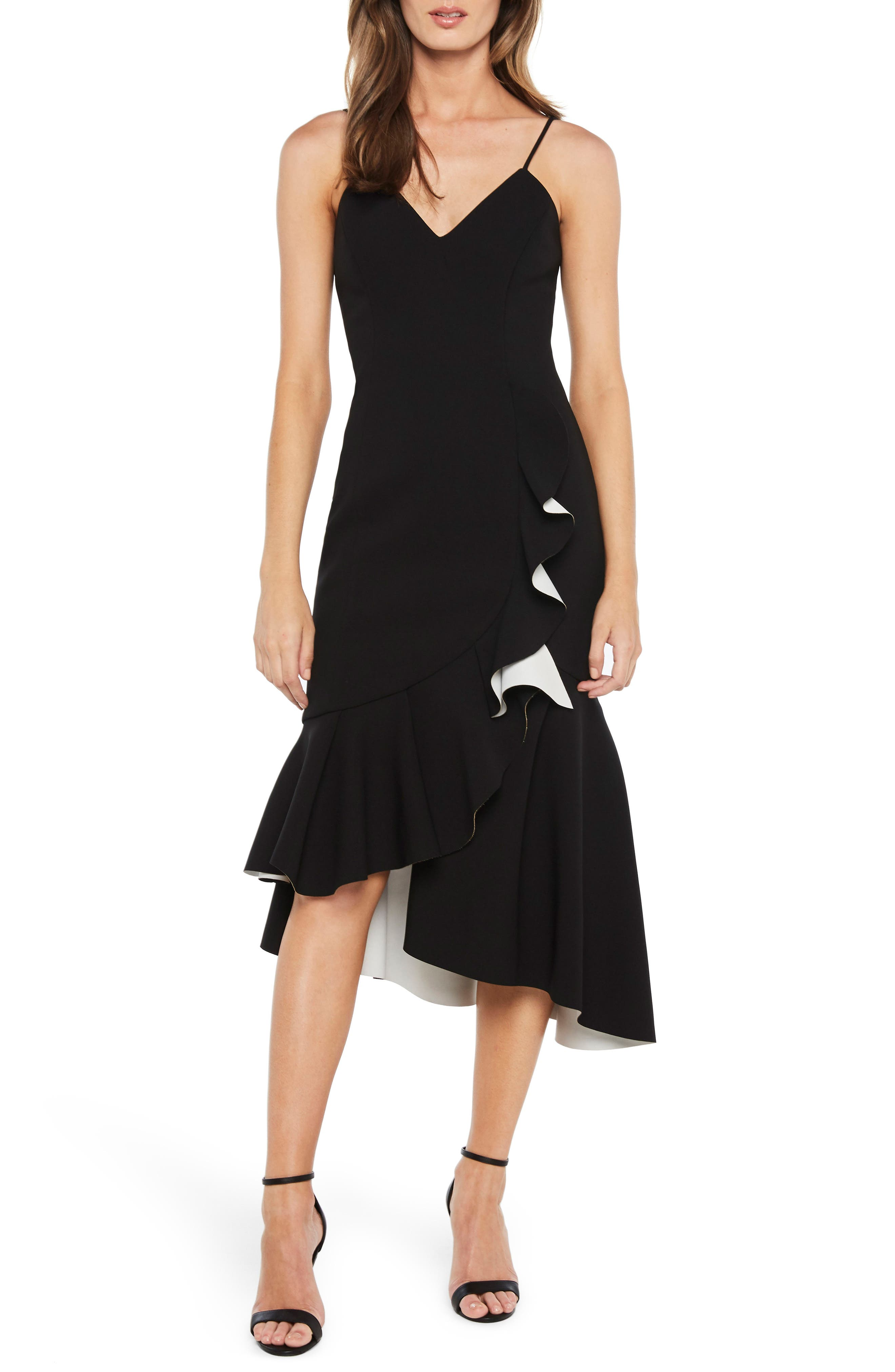 Kiki Scuba Dress,                         Main,                         color, 001