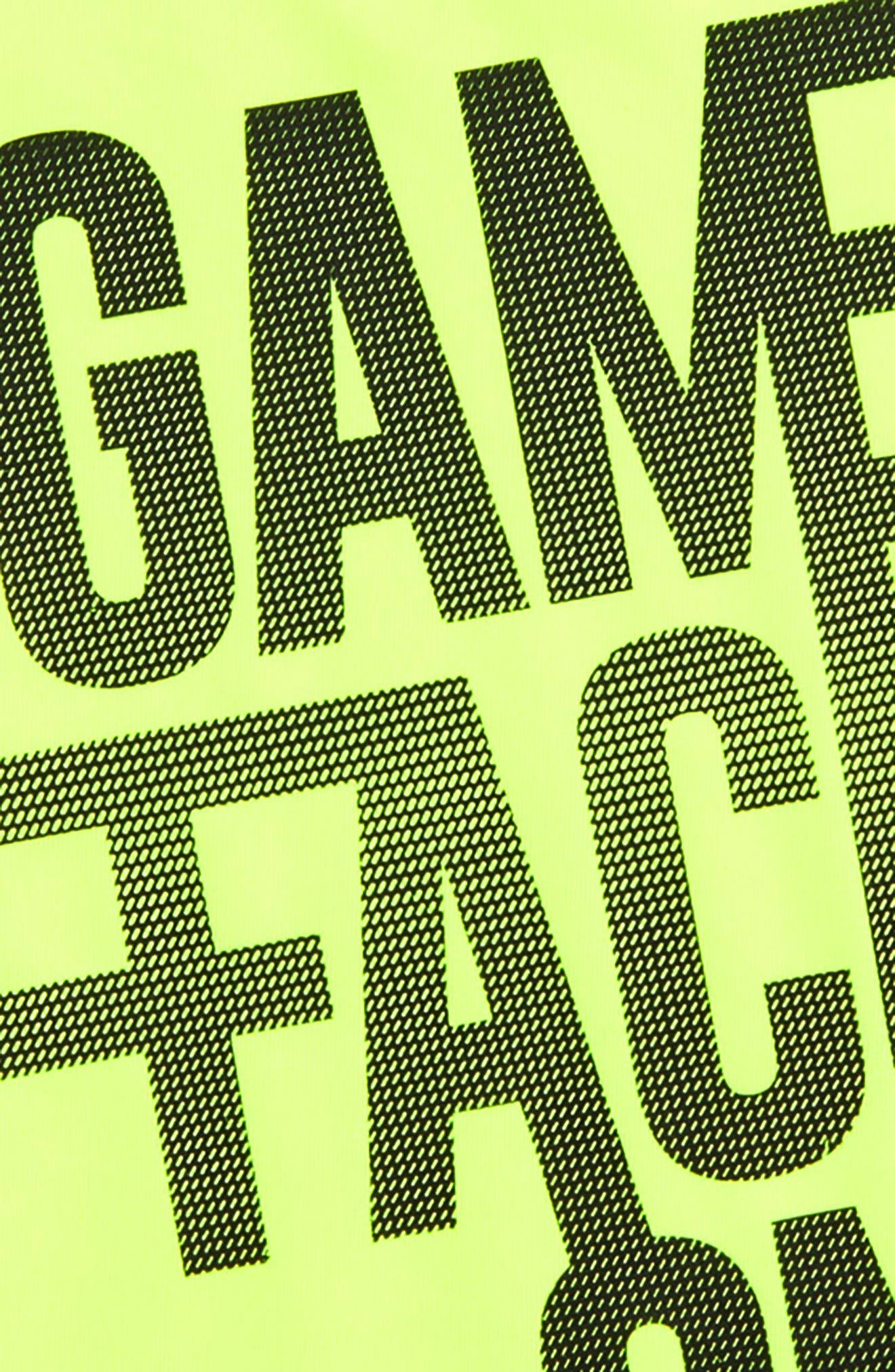 Game Face Graphic T-Shirt,                             Alternate thumbnail 2, color,                             YELLOW