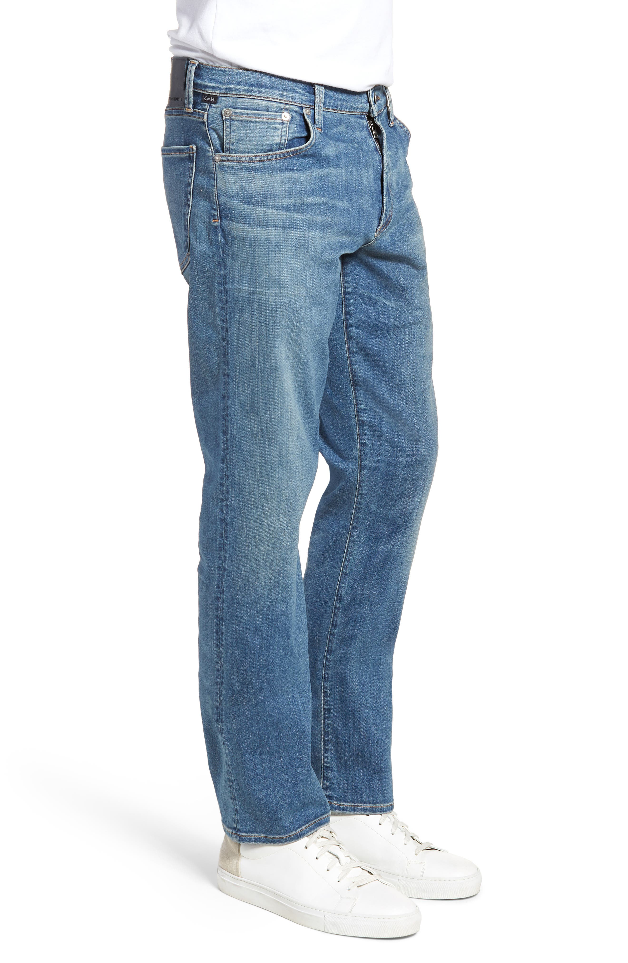 Perform - Gage Slim Straight Leg Jeans,                             Alternate thumbnail 3, color,                             456